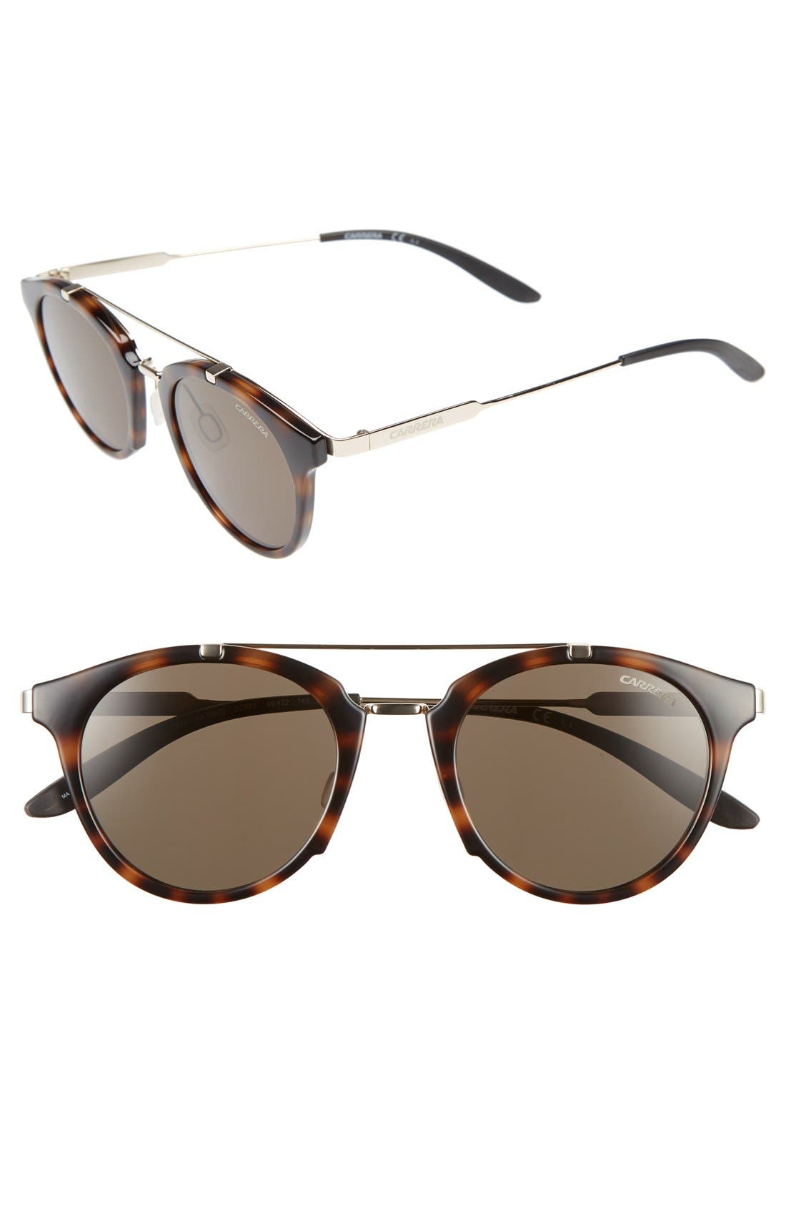 Carrera 126 49mm Sunglasses