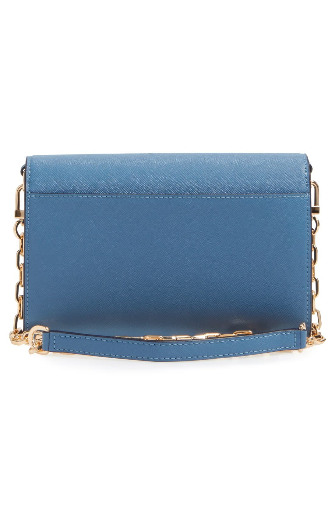 Alternate Image 4  - Tory Burch 'Robinson' Leather Wallet on a Chain