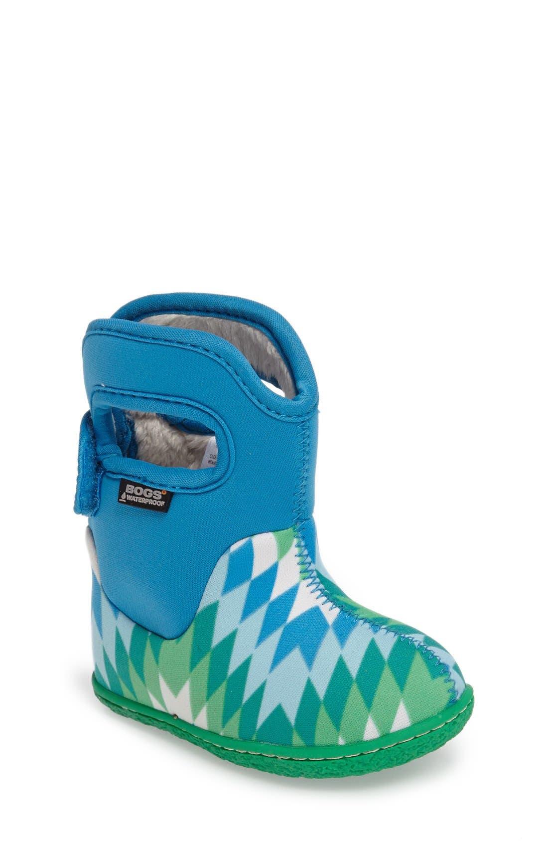 Alternate Image 1 Selected - Bogs 'Classic' Waterproof Snow Boot (Baby, Walker & Toddler)