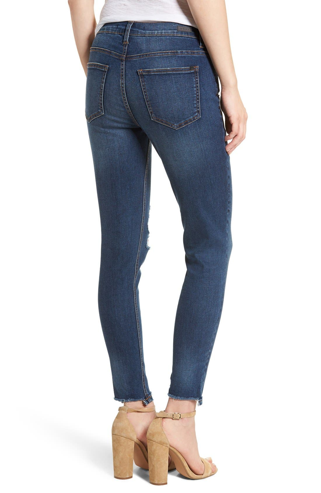 Alternate Image 2  - SP Black Decon Skinny Jeans