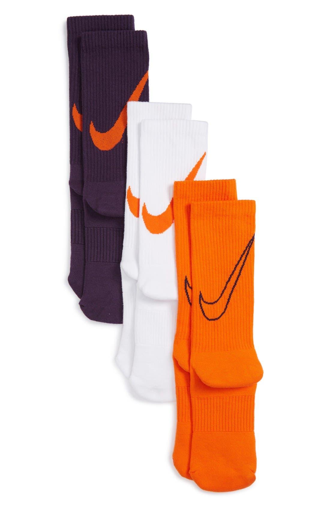 Nike 3-Pack Crew Socks (Kids)