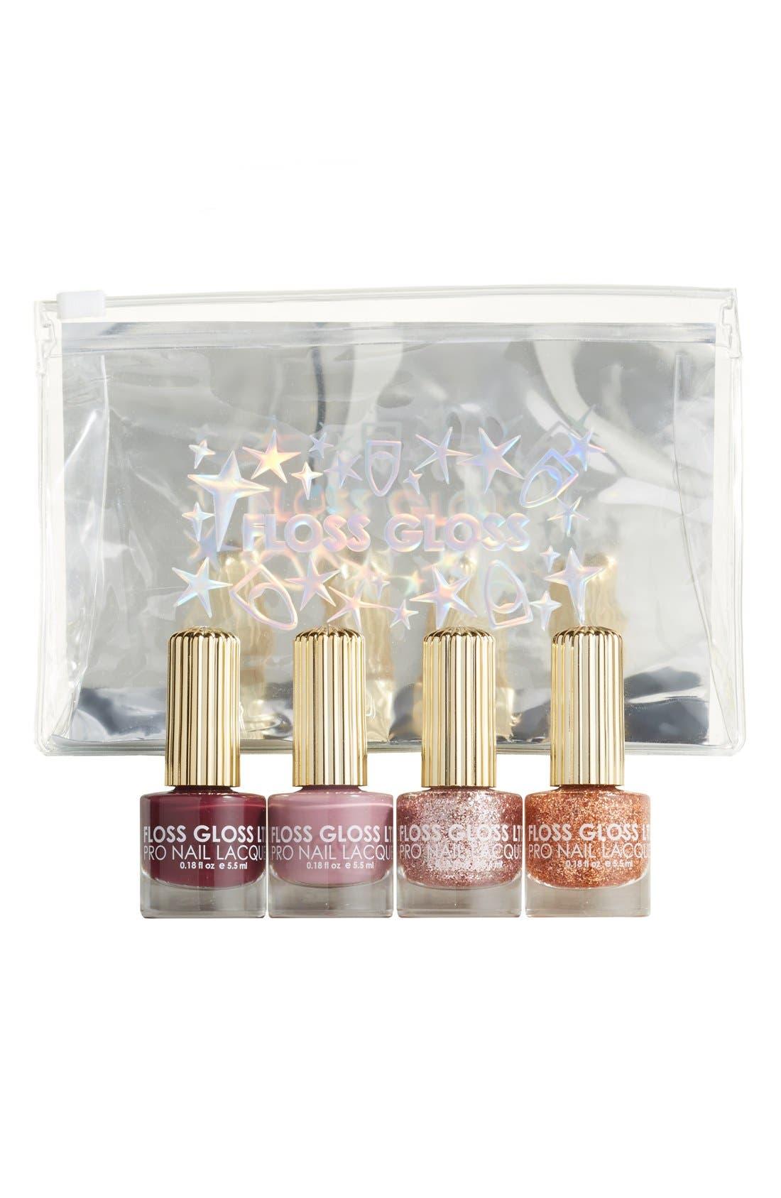 Main Image - Floss Gloss Holiday Set of 4 Nail Lacquers