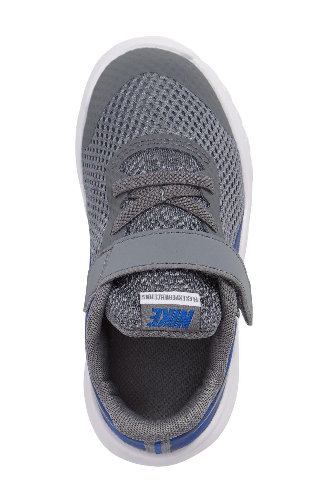Alternate Image 4  - Nike Flex Experience 5 Sneaker (Baby, Walker & Toddler)