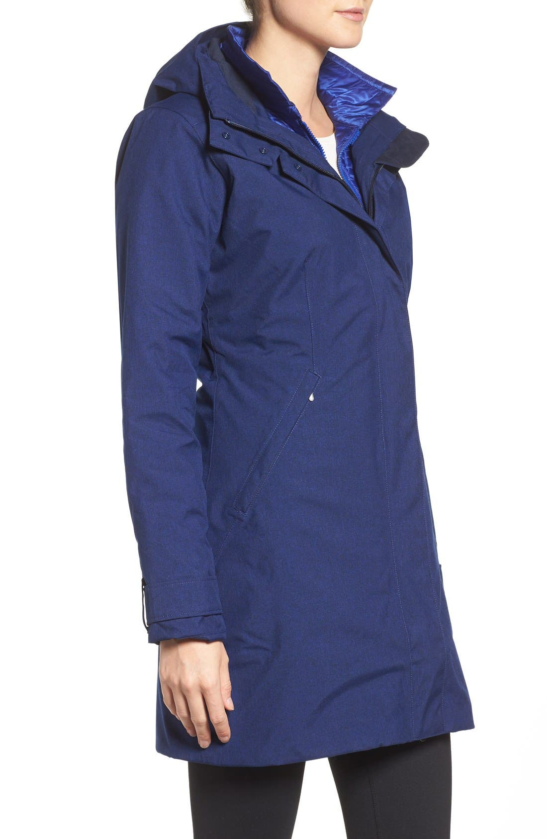 Alternate Image 3  - Patagonia 'Vosque' 3-in-1 Parka (Online Only)
