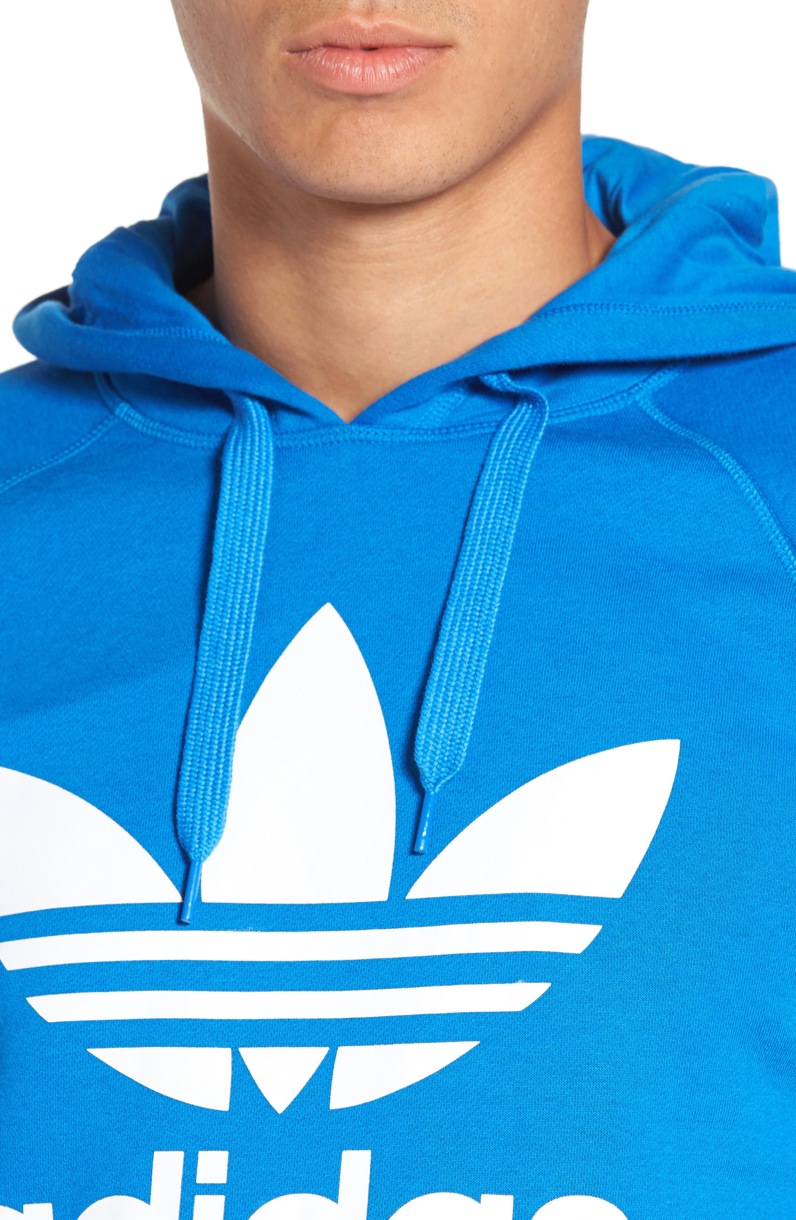 Alternate Image 4  - adidas Originals 'Trefoil' Graphic Hoodie
