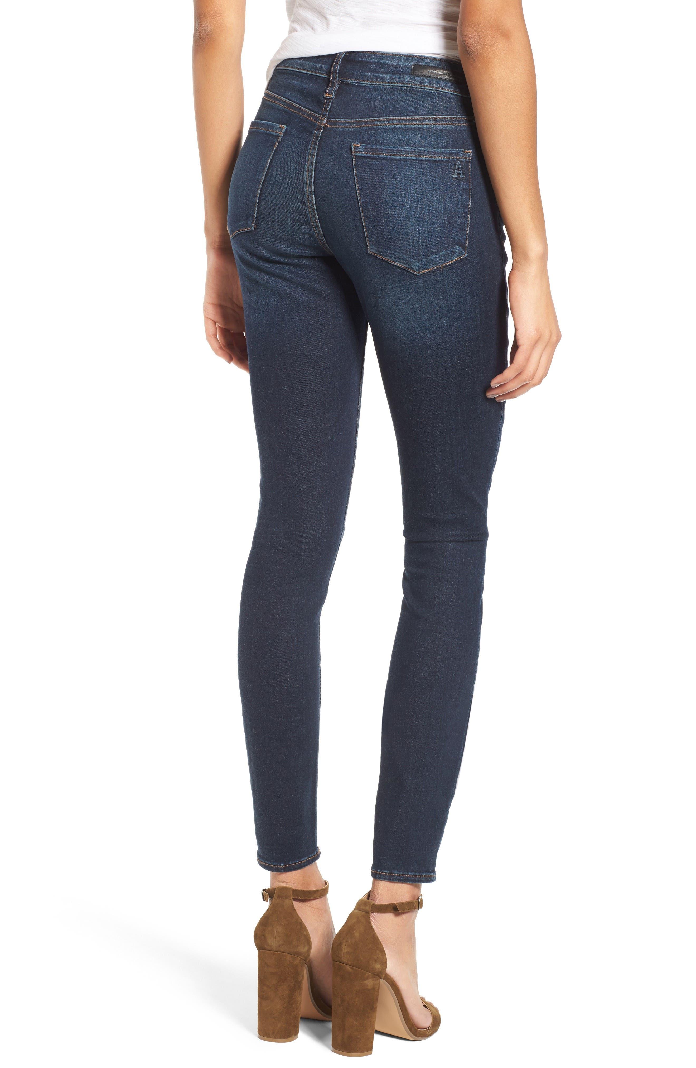 Alternate Image 2  - Articles of Society Mya Skinny Jeans (Waverly)