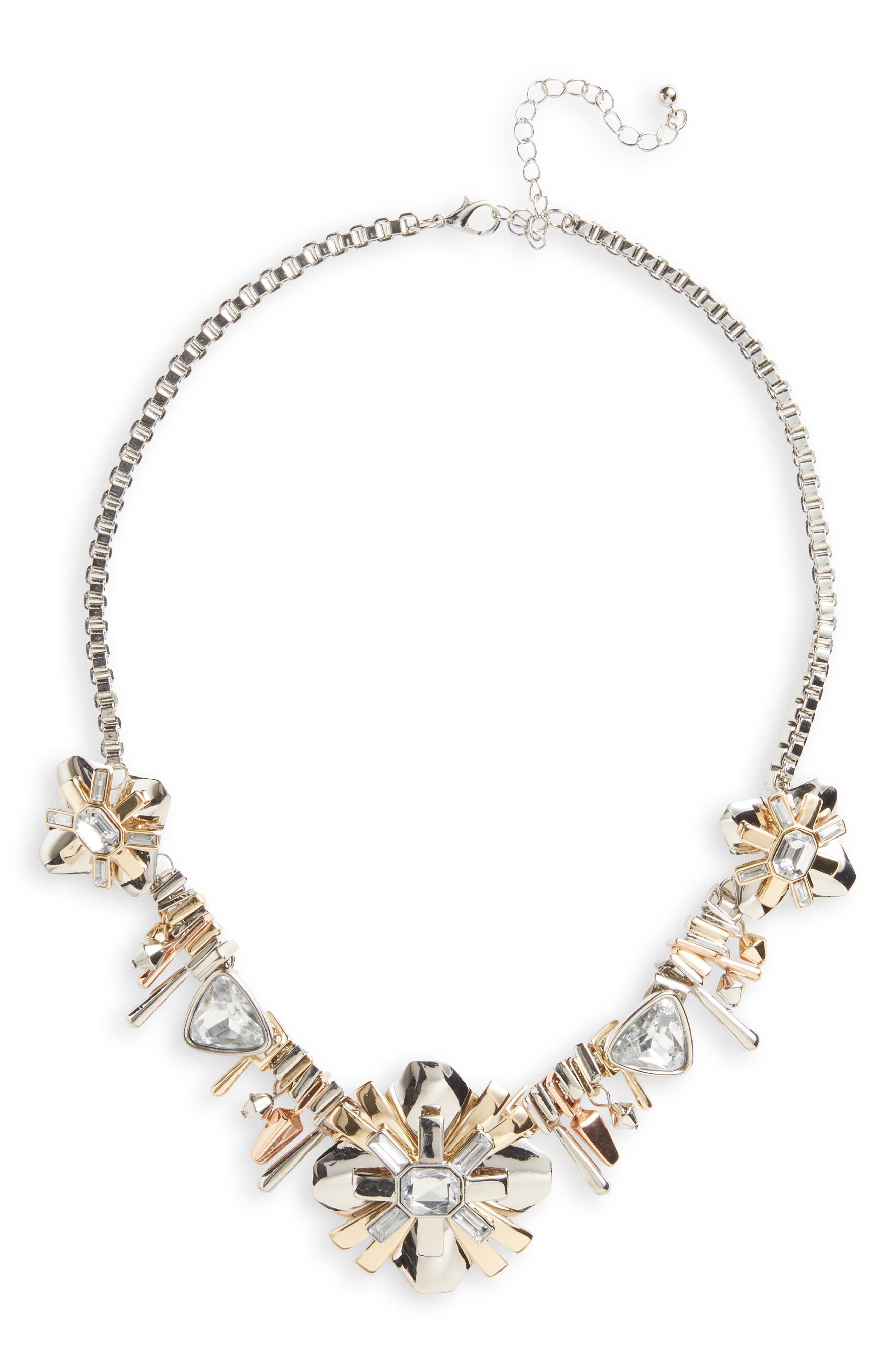 Alternate Image 1 Selected - Sole Society Galactica Statement Necklace