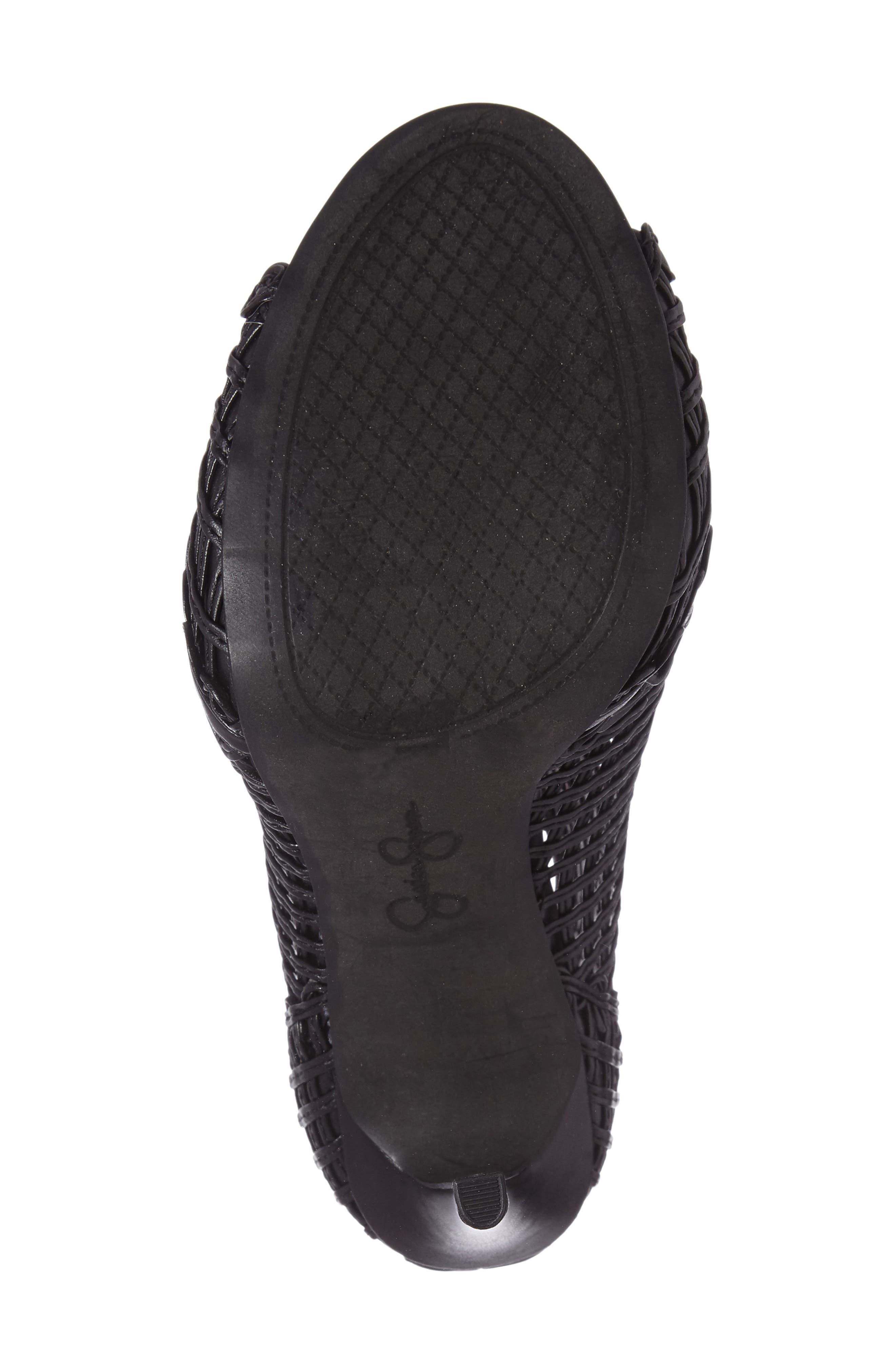 Alternate Image 4  - Jessica Simpson Rendy Latticework Peep Toe Bootie (Women)