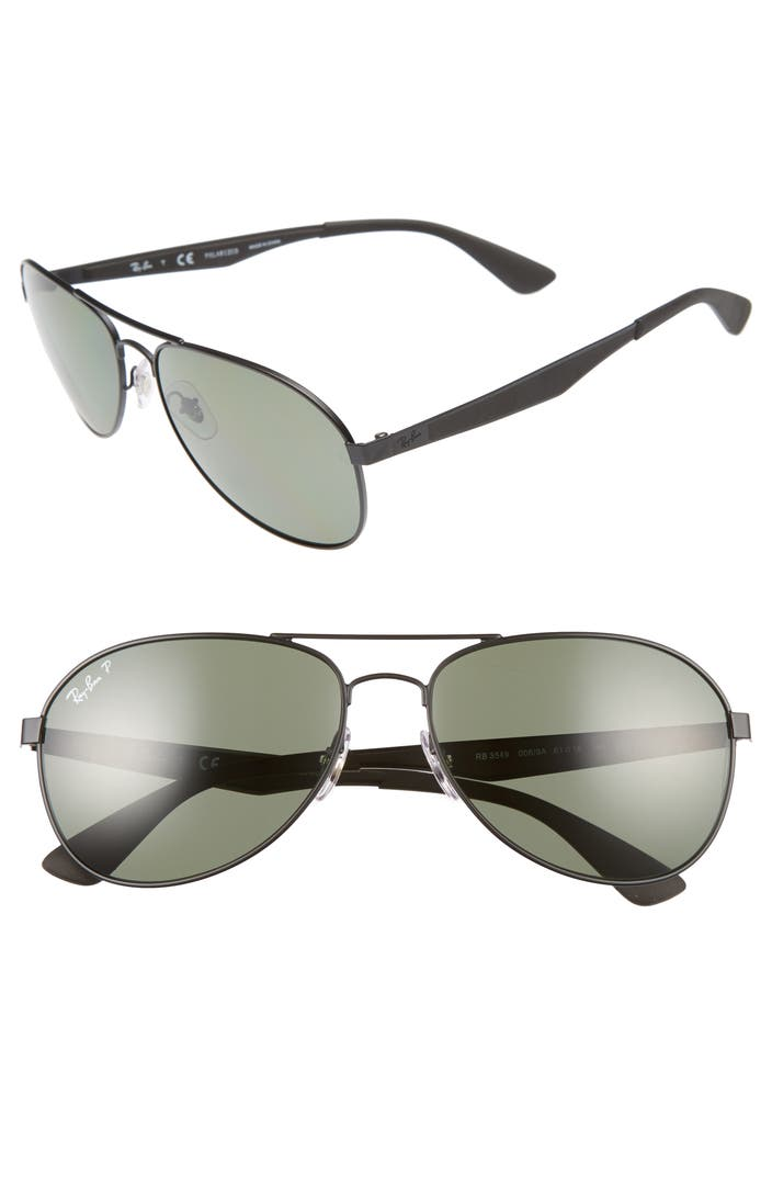 67b5dd18b1 Ray Ban 61mm Polarized Sunglasses « Heritage Malta