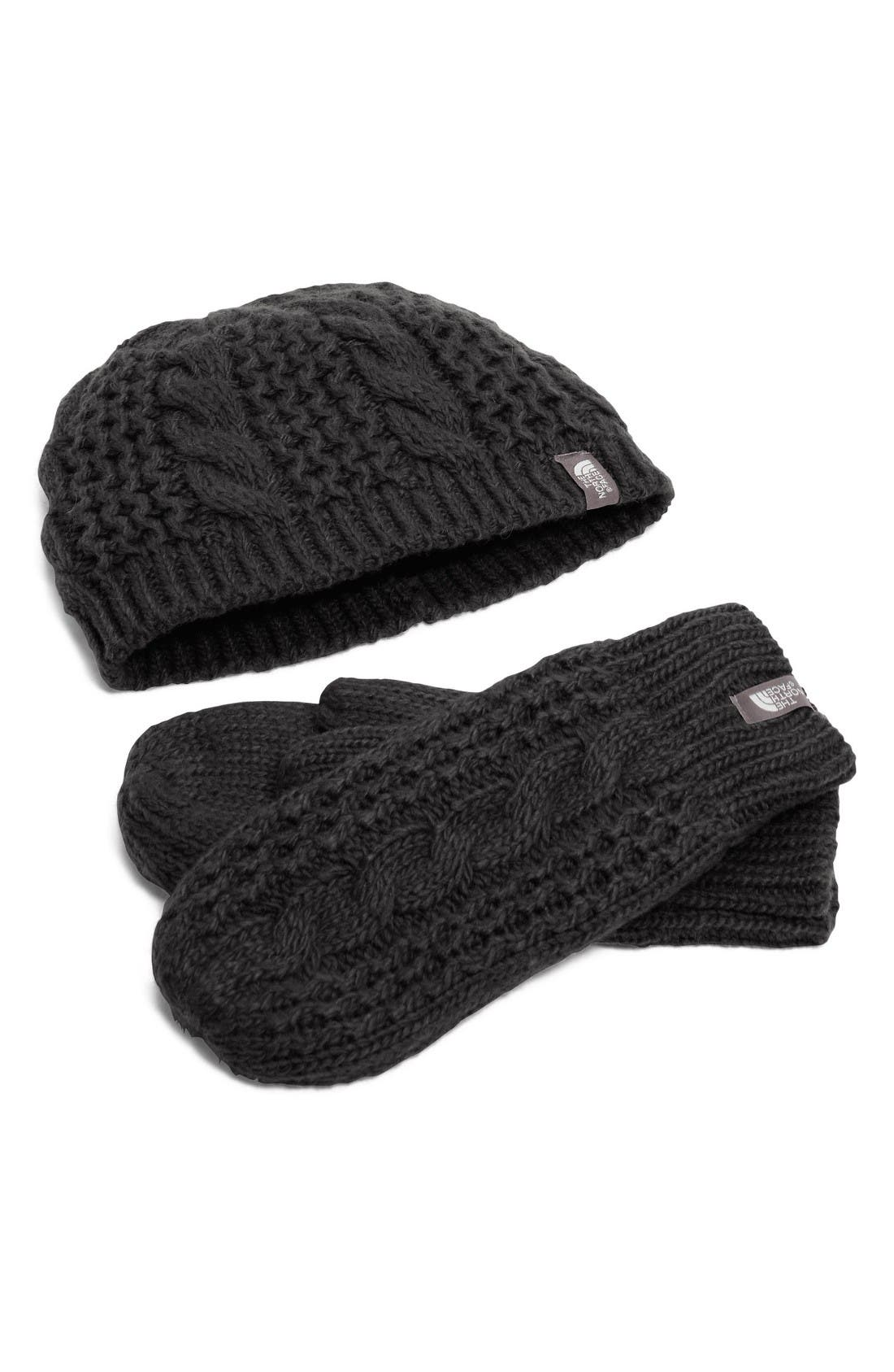 Alternate Image 1 Selected - The North Face Minna Beanie & Mittens