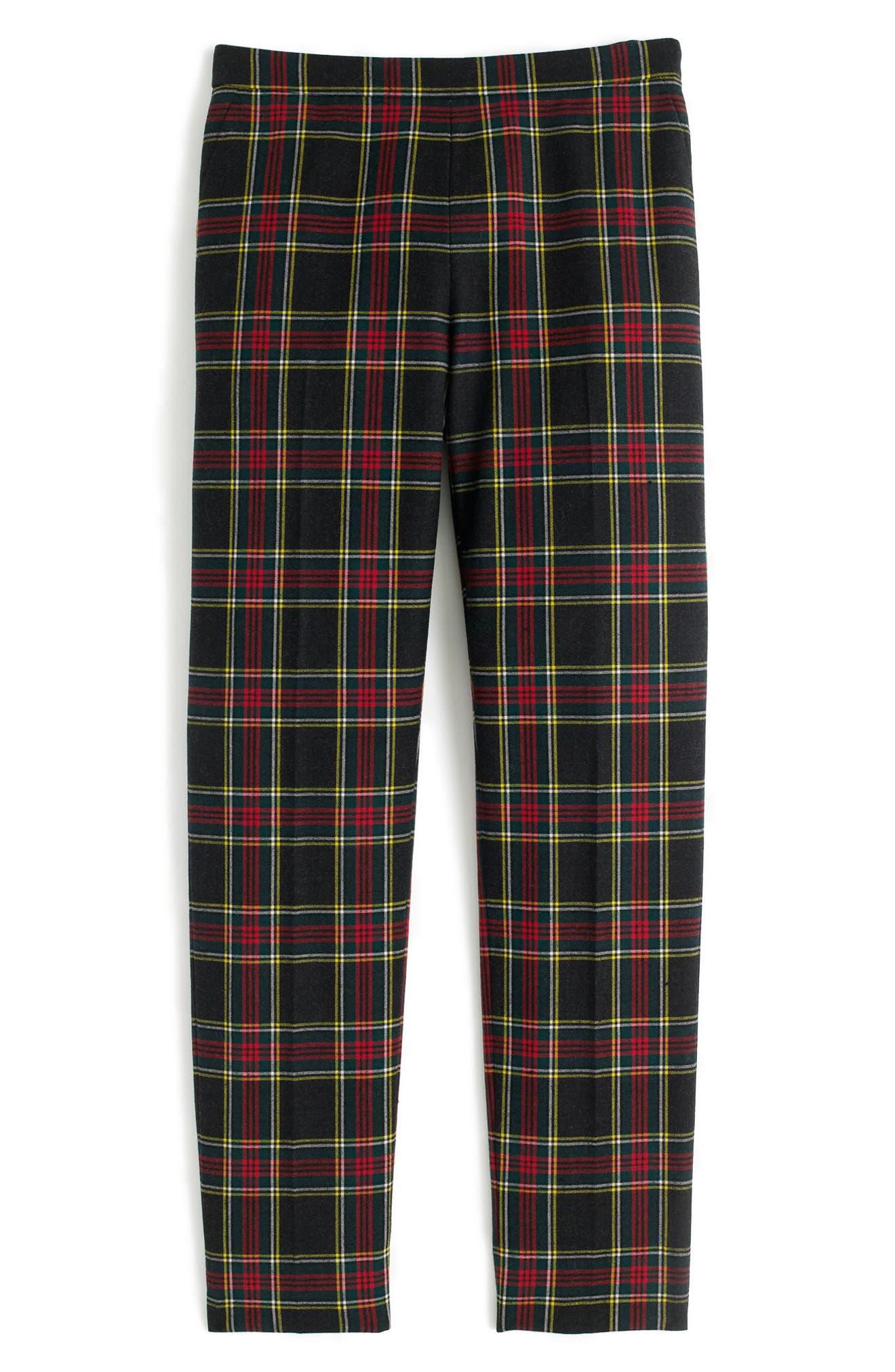Alternate Image 3  - J.Crew Martie Stewart Plaid Stretch Wool Pants (Regular & Petite)