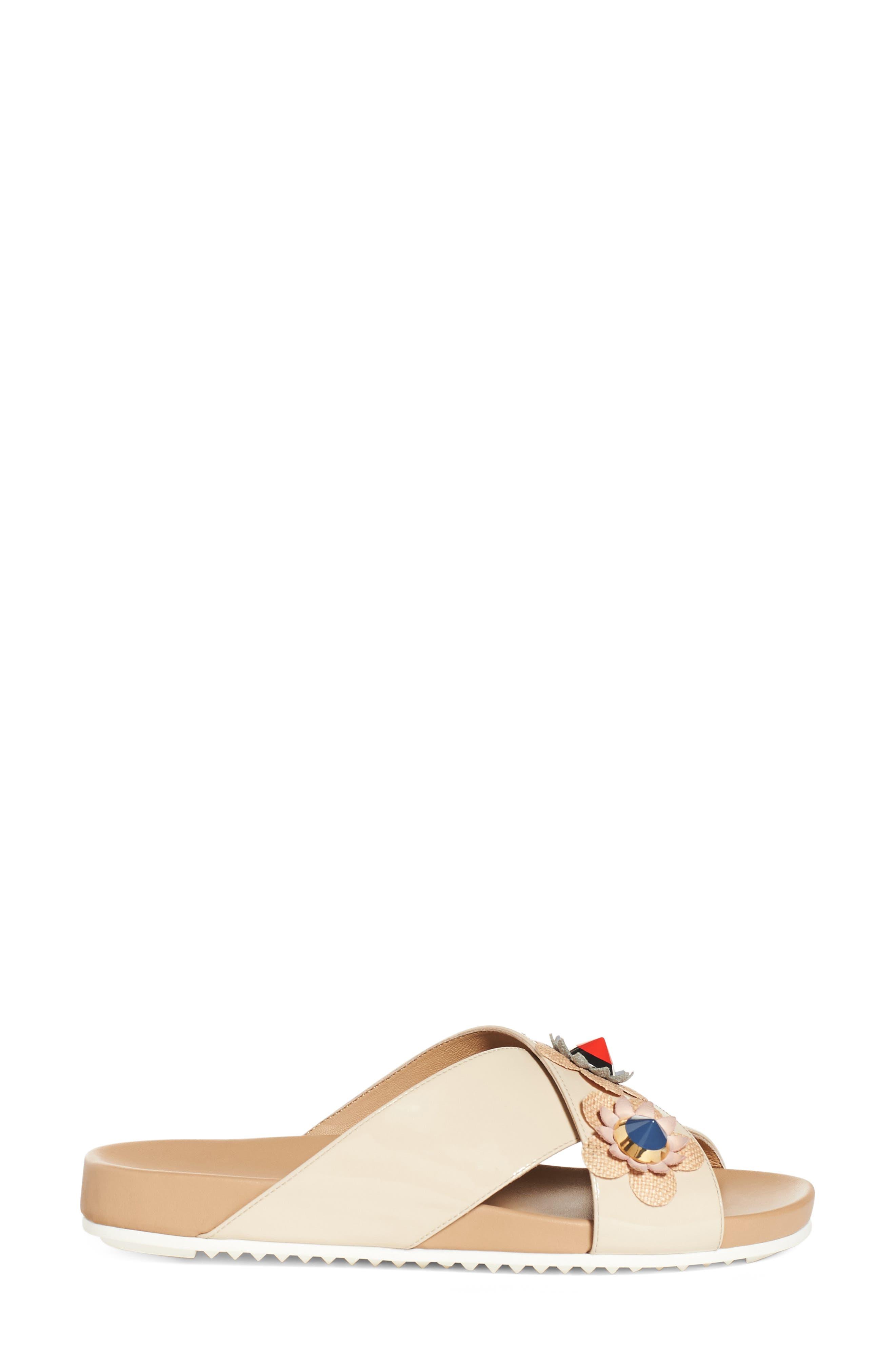 Alternate Image 4  - Fendi Flowerland Slide Sandal (Women)