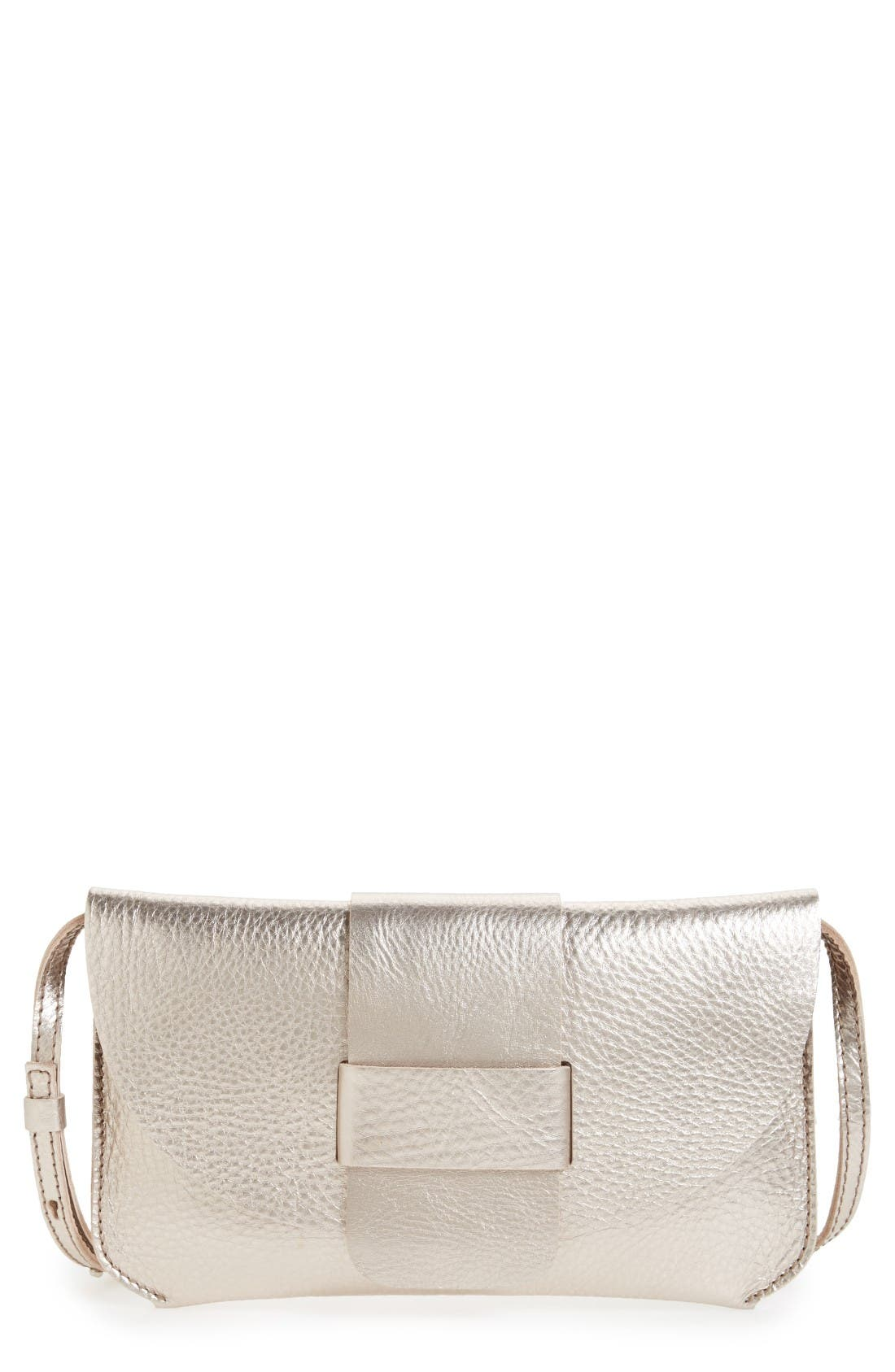 Pedro Garcia Leather Flap Clutch