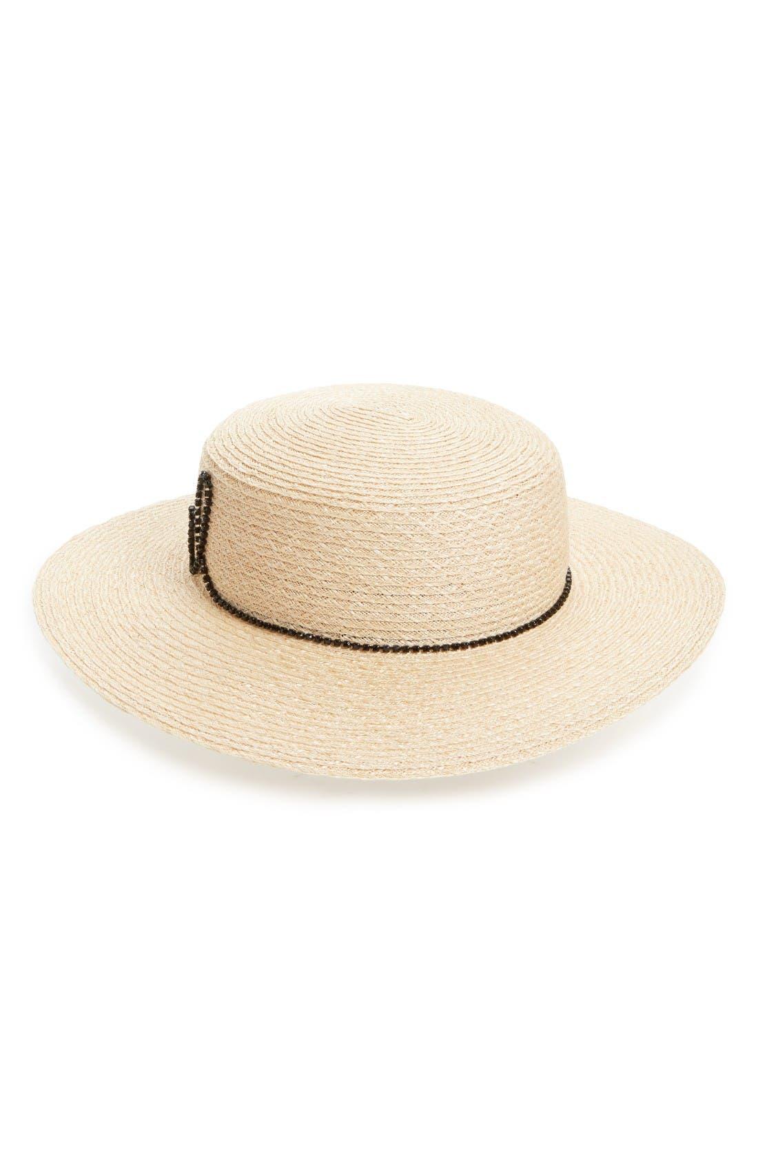 Alternate Image 2  - Eugenia Kim Colette Rebel Boater Hat