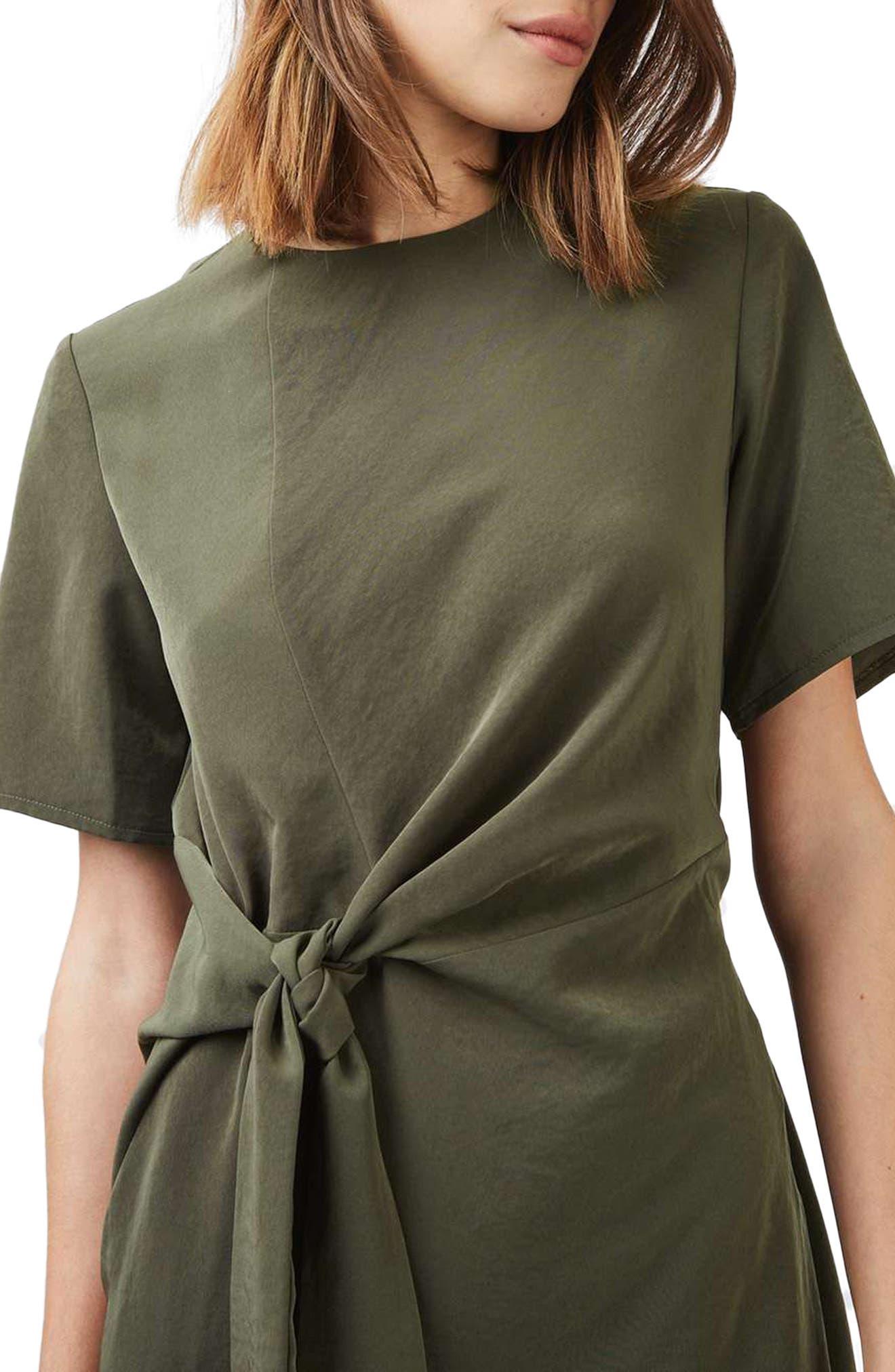 Alternate Image 5  - Topshop Front Knot Dress