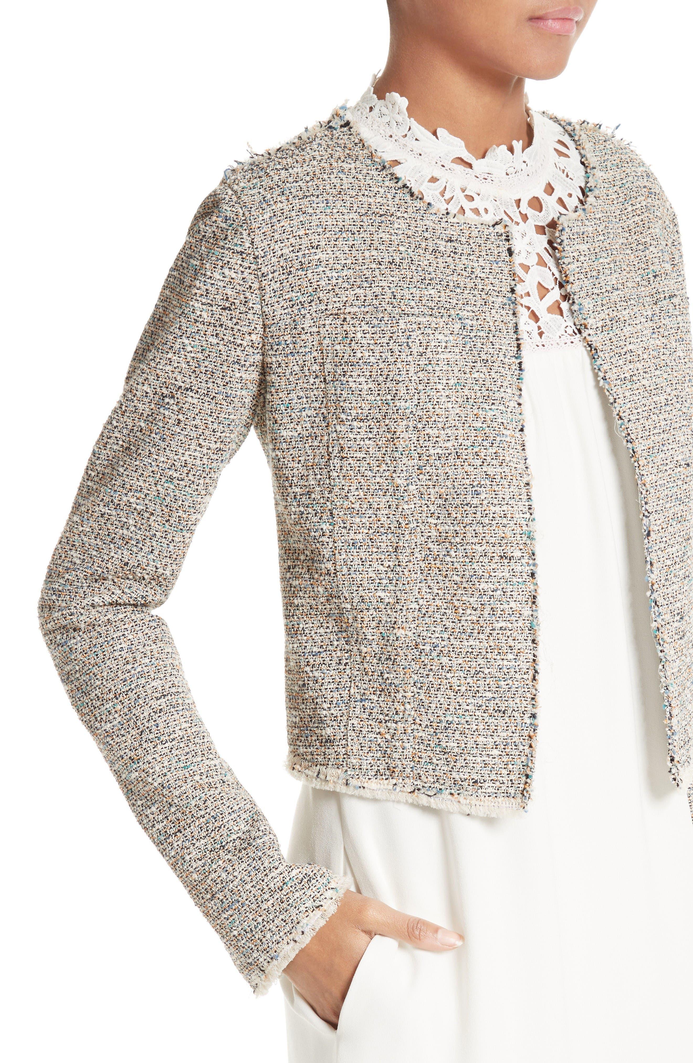 Alternate Image 4  - Theory Ualana Tweed Jacket