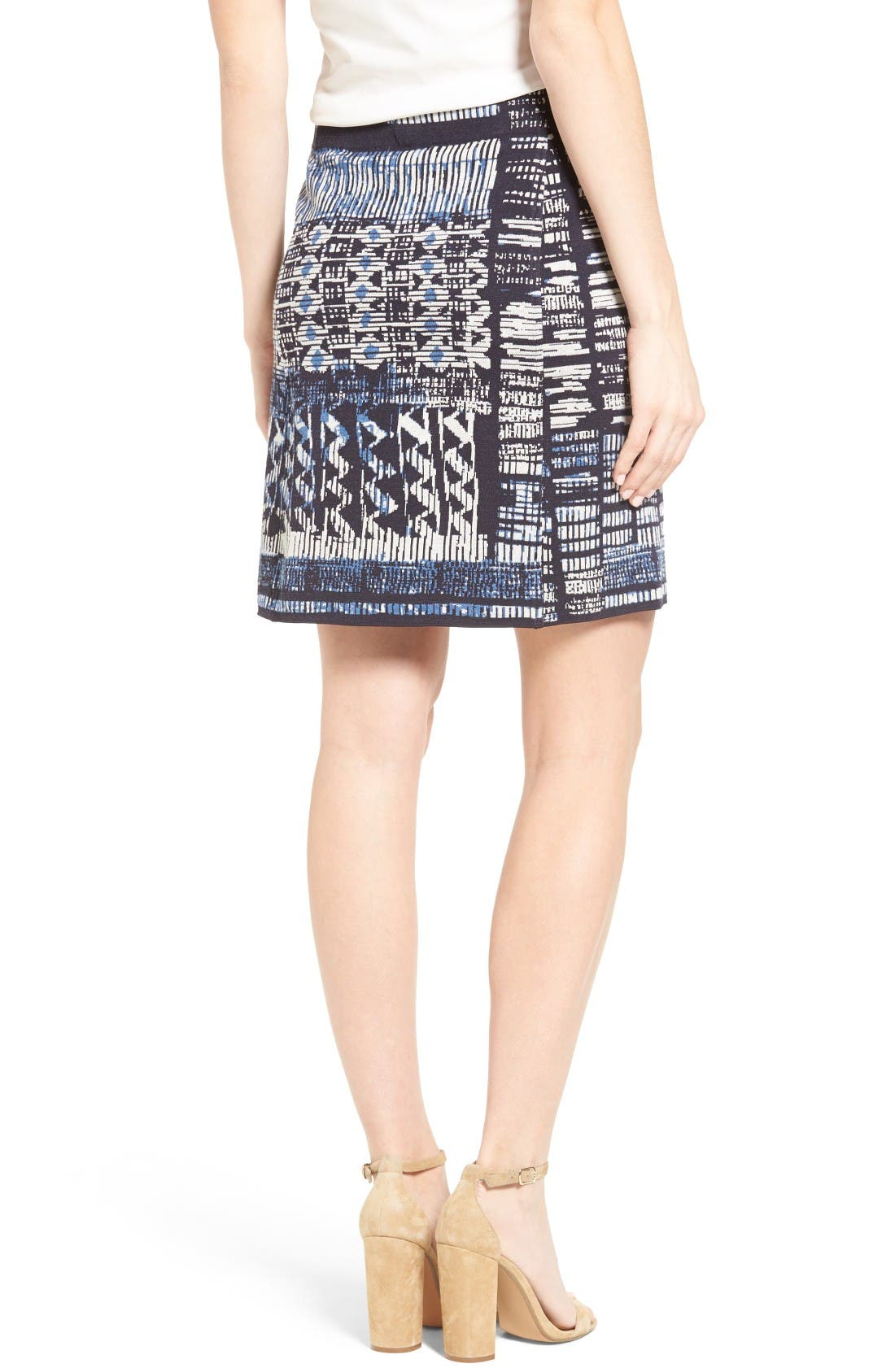 Alternate Image 2  - NIC+ZOE Blue Streak Skirt