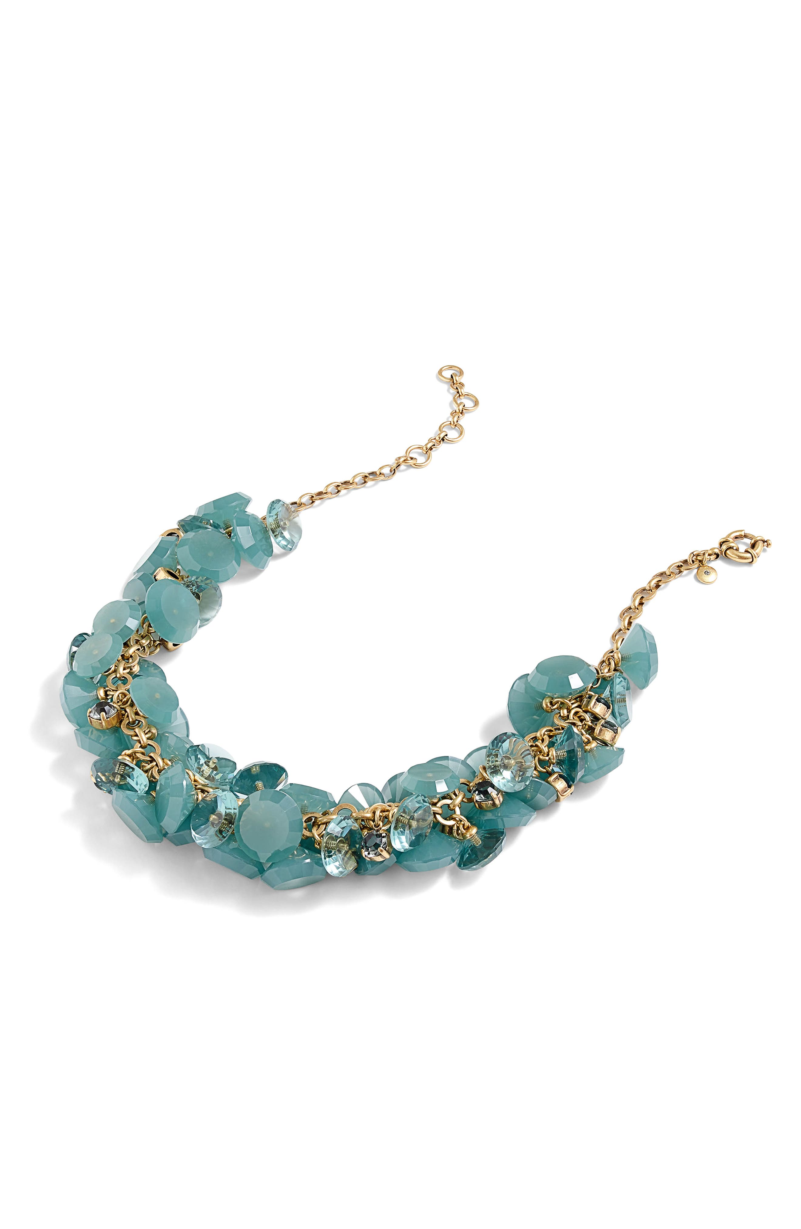 Alternate Image 1 Selected - J.Crew Lucite® Gemstone Necklace