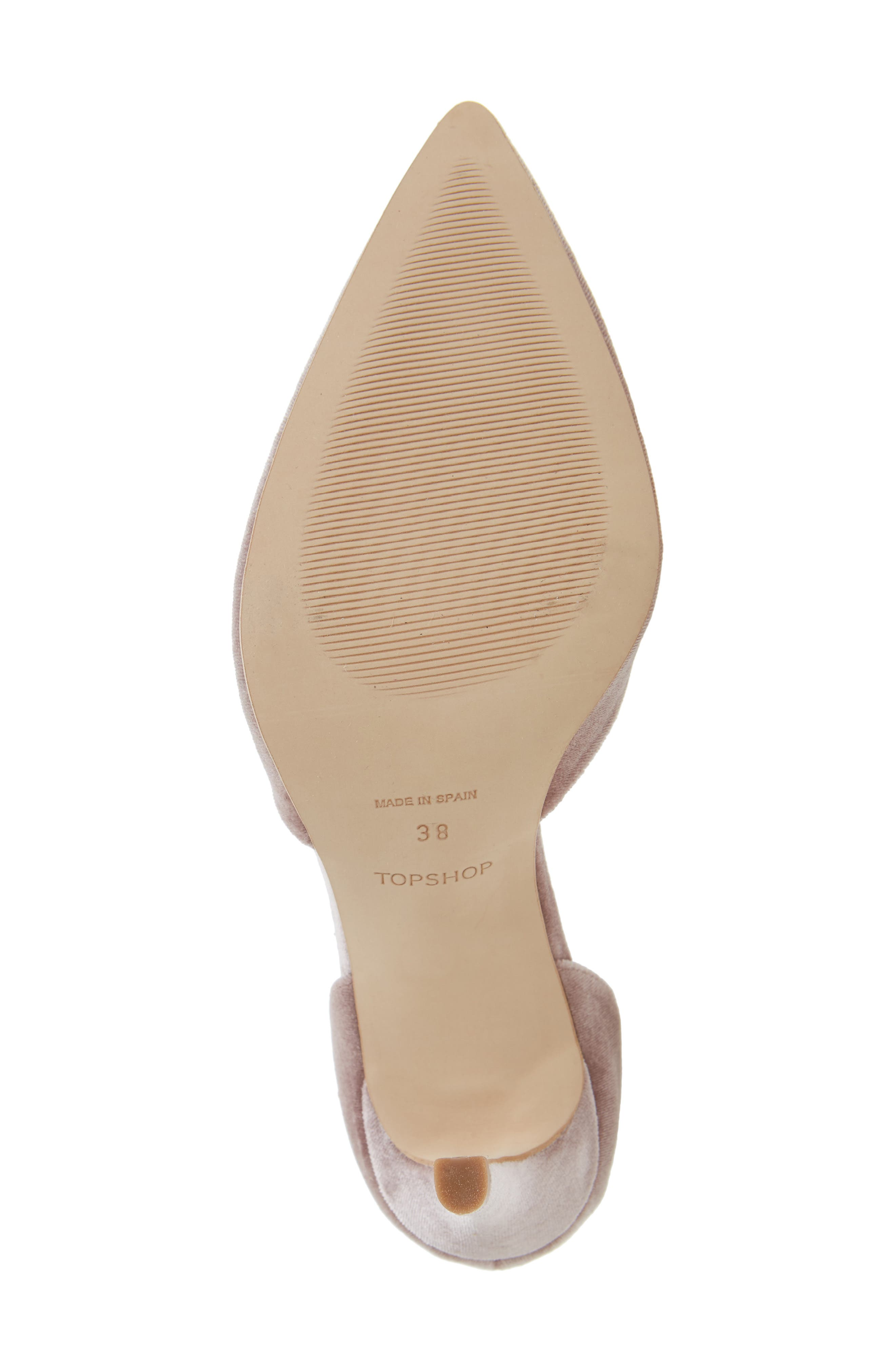 Alternate Image 4  - Topshop Graceful Ankle Tie d'Orsay Pump (Women)