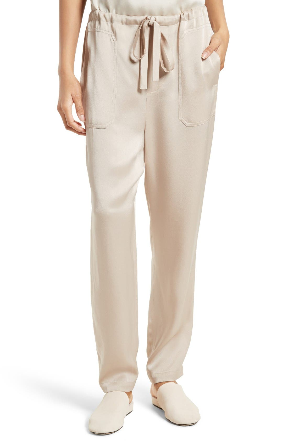 Vince Patch Pocket Pull-On Pants