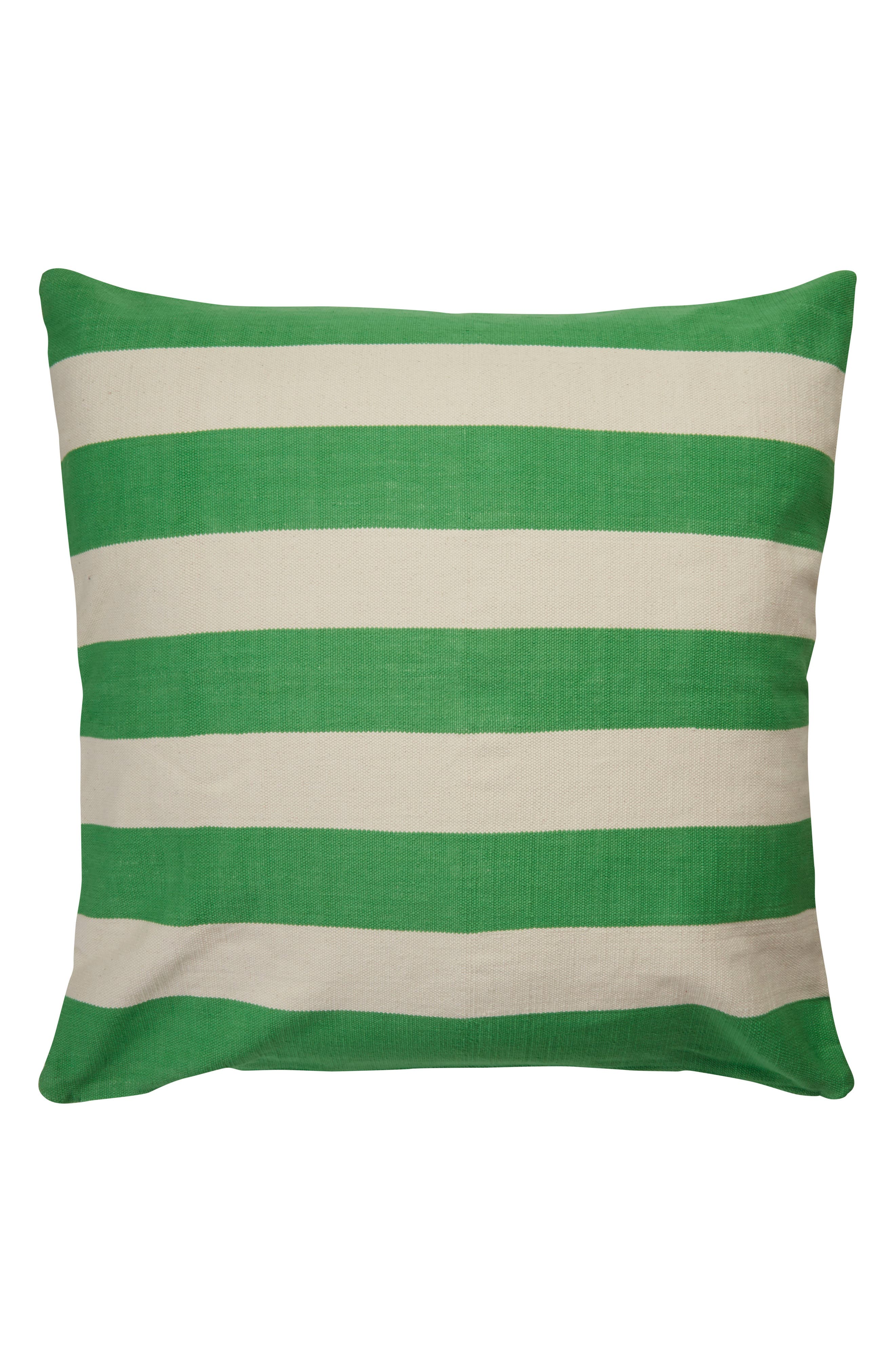 Alternate Image 1 Selected - kate spade new york double stripe accent pillow