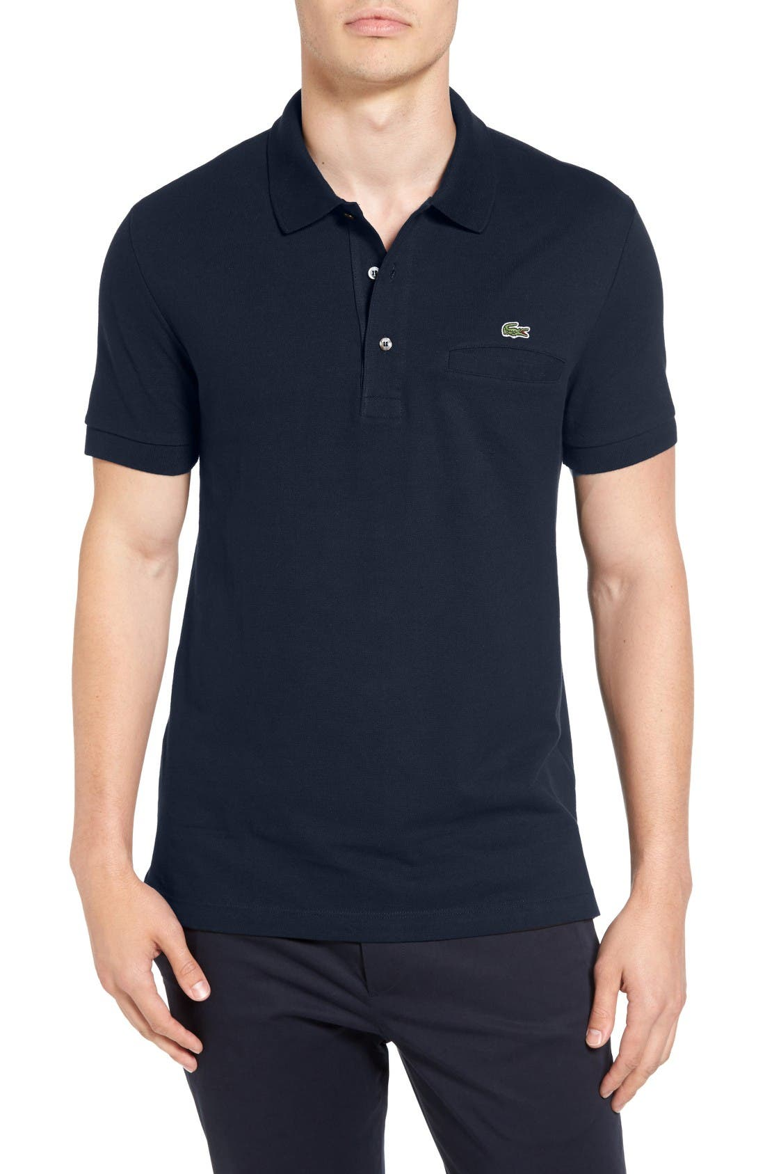 Lacoste Regular Fit Pocket Piqué Polo