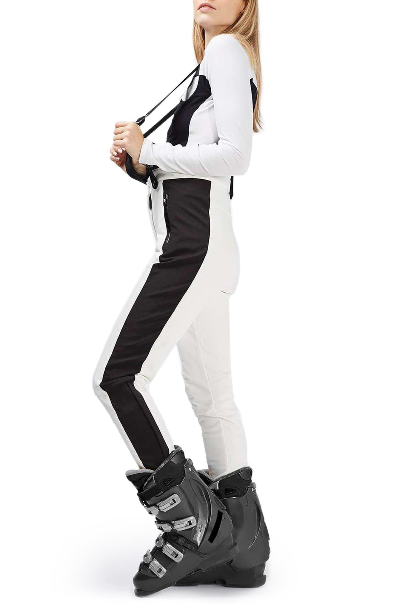 Alternate Image 3  - Topshop Ziggy Skinny Fit Snow Pants