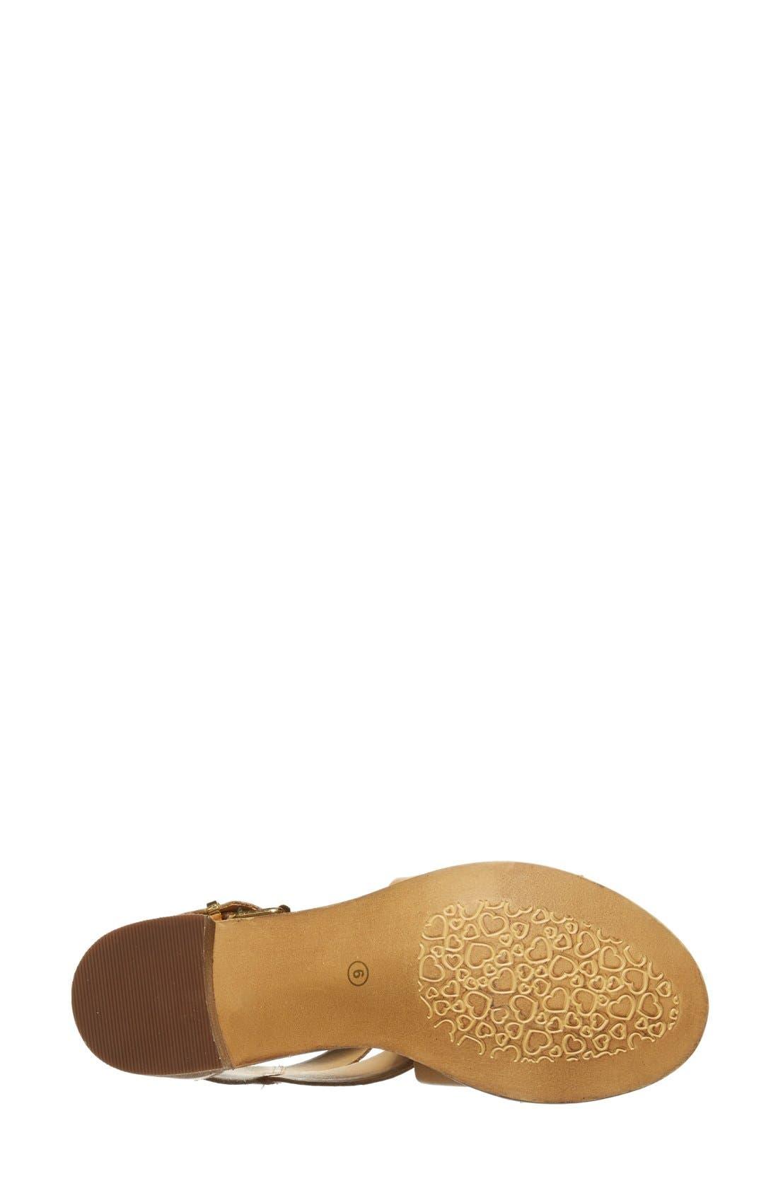 Alternate Image 4  - Steve Madden 'Rosana' Double Ankle Strap Leather Sandal (Women)
