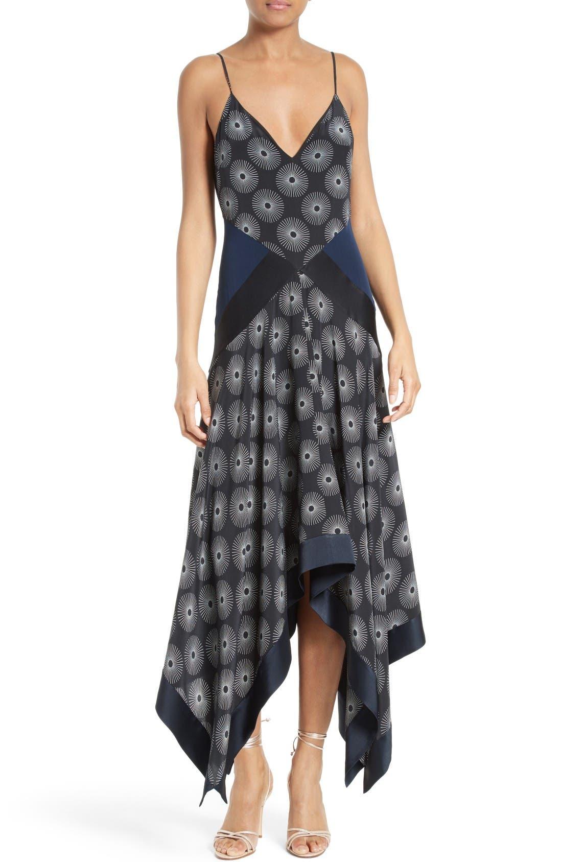 Diane von Furstenberg Silk Midi Dress