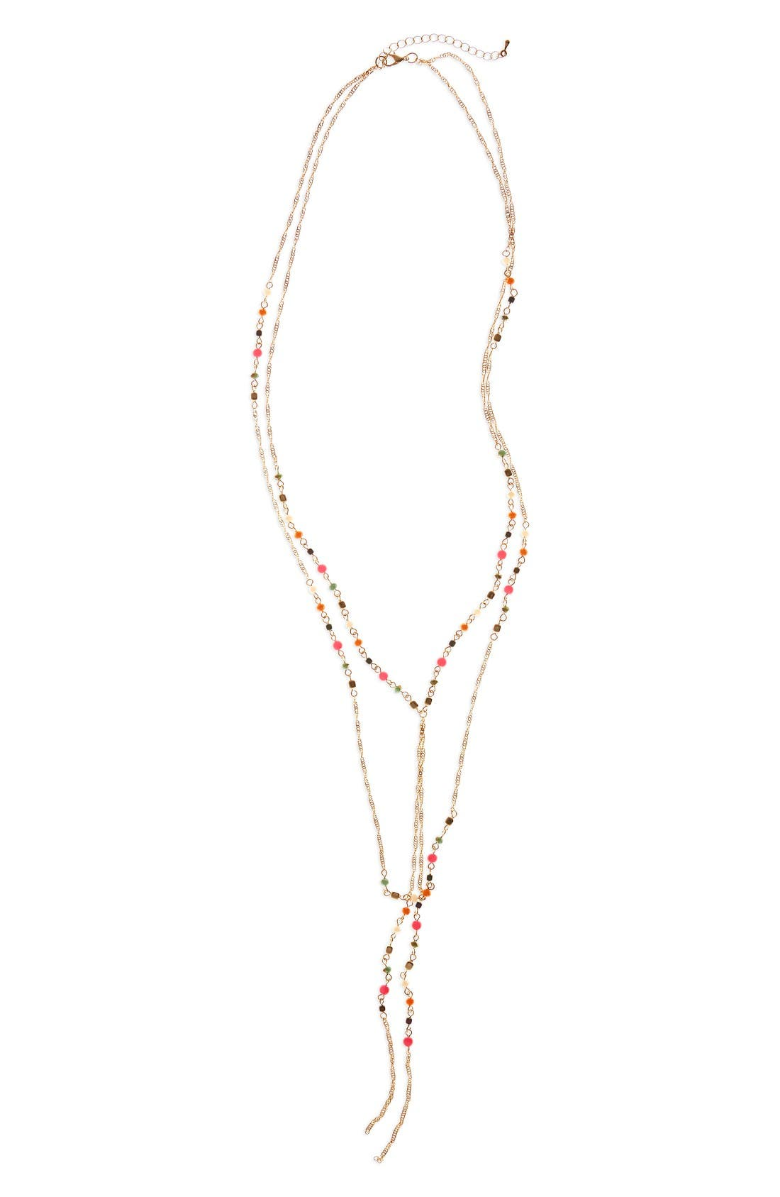 Alternate Image 1 Selected - Panacea Multistrand Y-Necklace