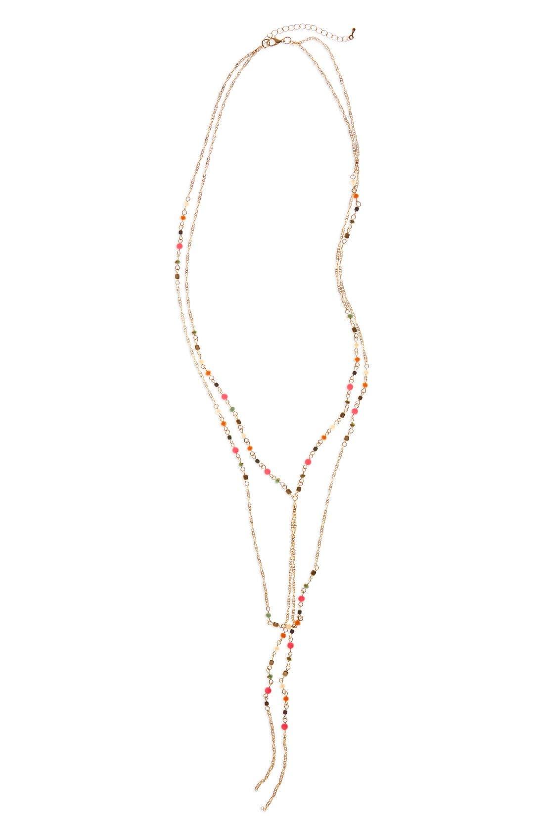 Main Image - Panacea Multistrand Y-Necklace