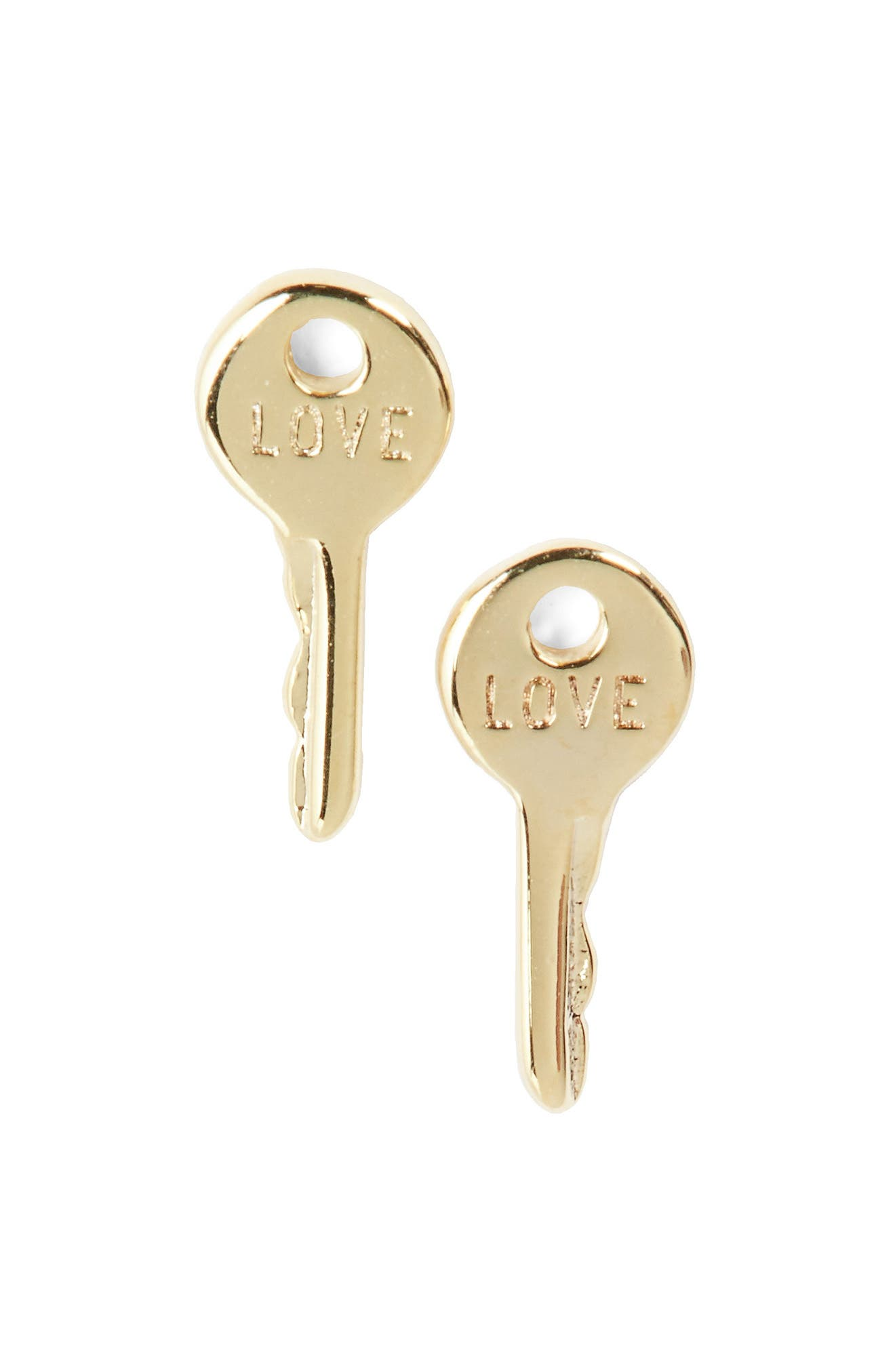The Giving Keys Love Mini Stud Earrings