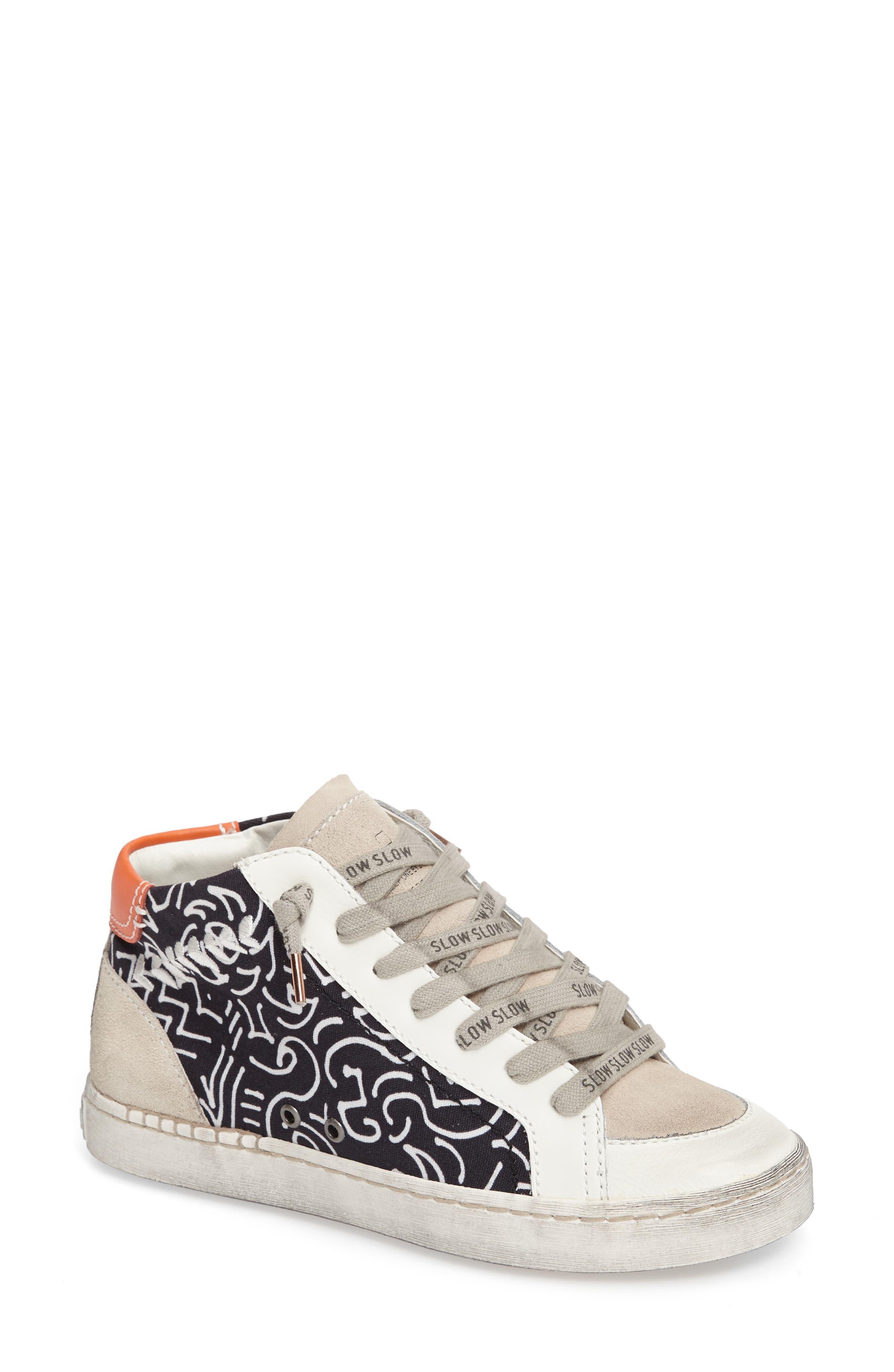 Main Image - Dolce Vita Zane Mid Top Multi Finish Sneaker (Women)
