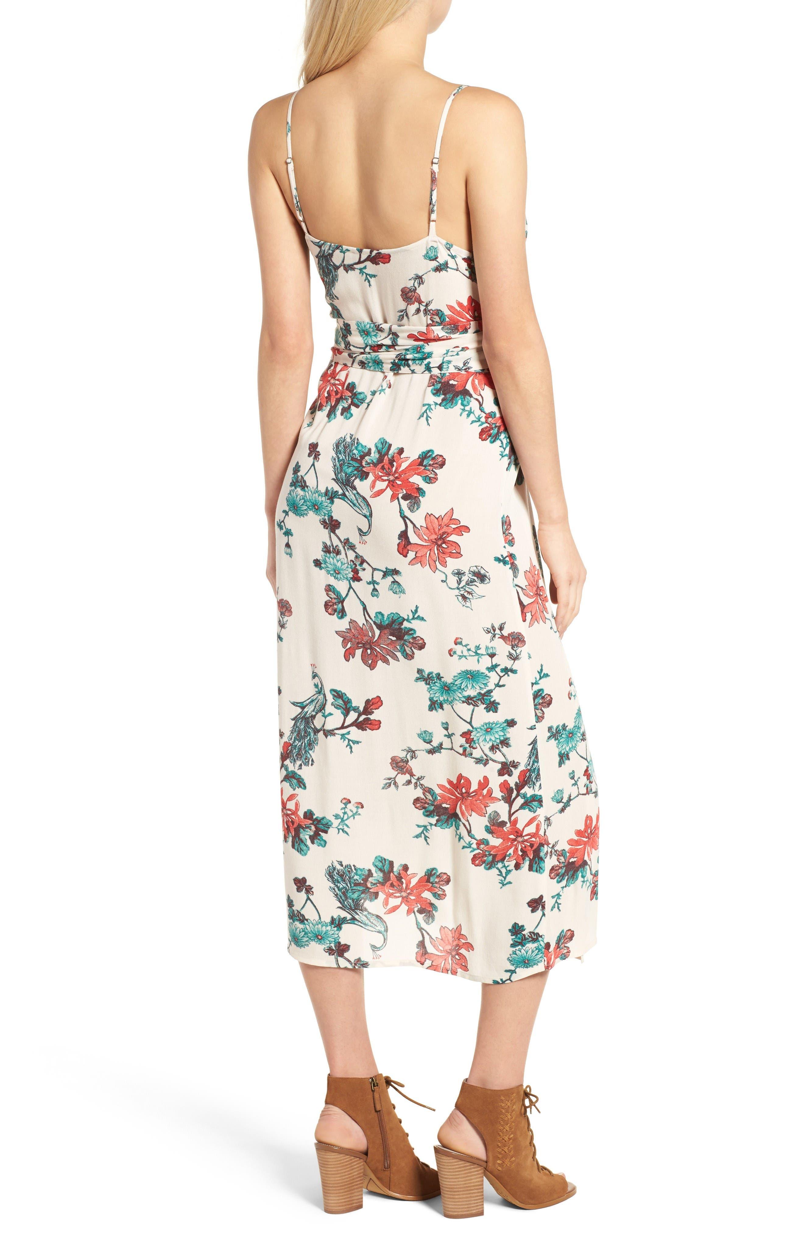 Alternate Image 3  - Hinge Midi Wrap Dress