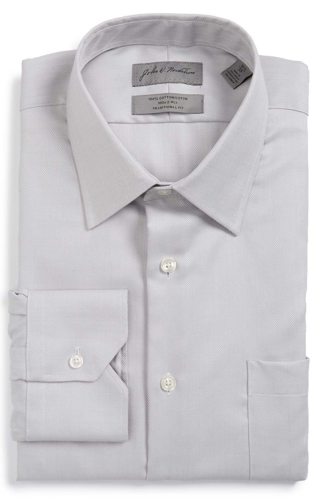JOHN W. NORDSTROM® Traditional Fit Dress Shirt
