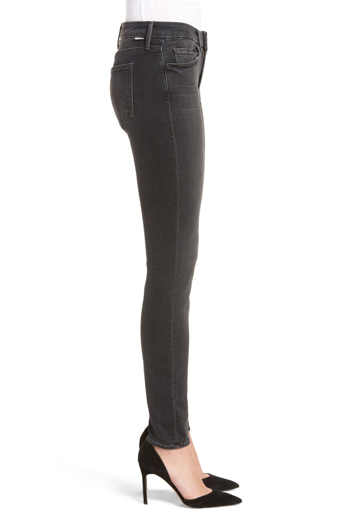 Alternate Image 3  - MOTHER The Looker Skinny Jeans (Slightly Shady)