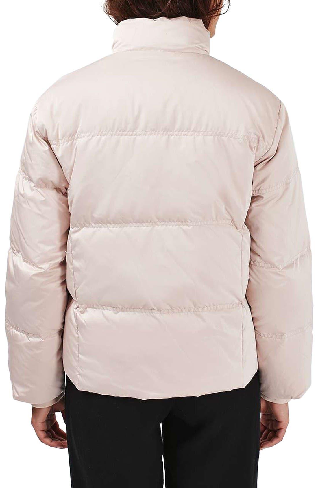 Alternate Image 3  - Topshop Emily Puffer Jacket
