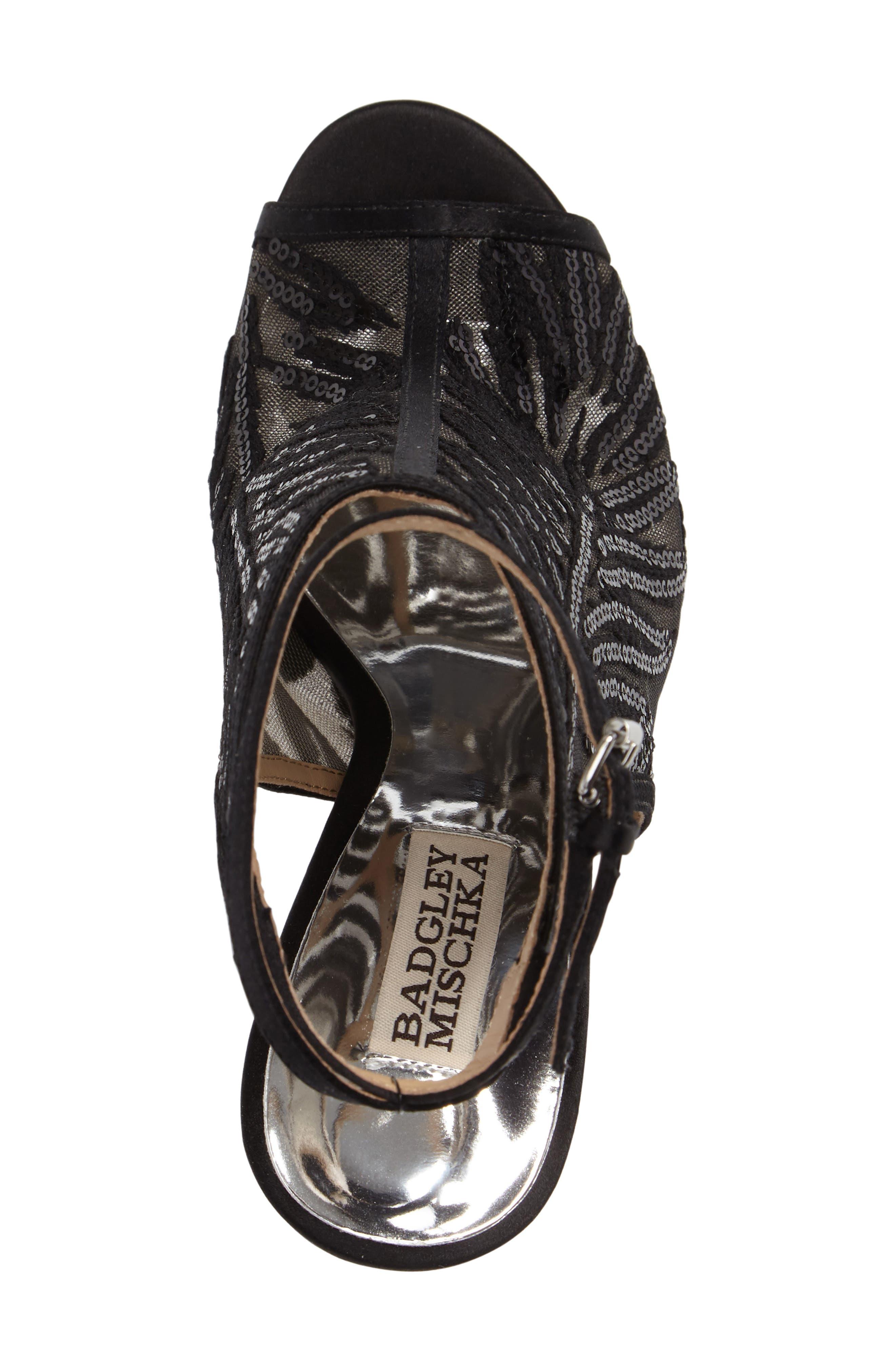 Alternate Image 3  - Badgley Mischka Blakely Sequin Illusion Sandal (Women)