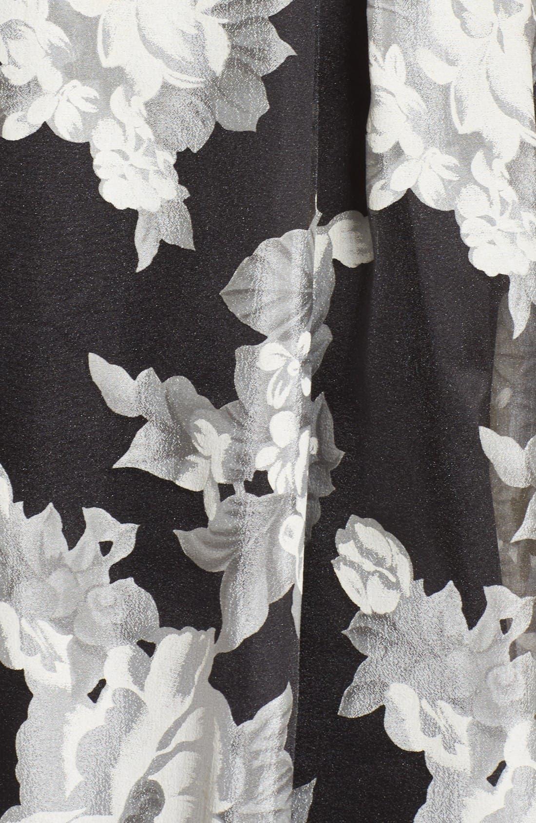 Alternate Image 5  - Eliza J Floral Print Organza Midi Skirt