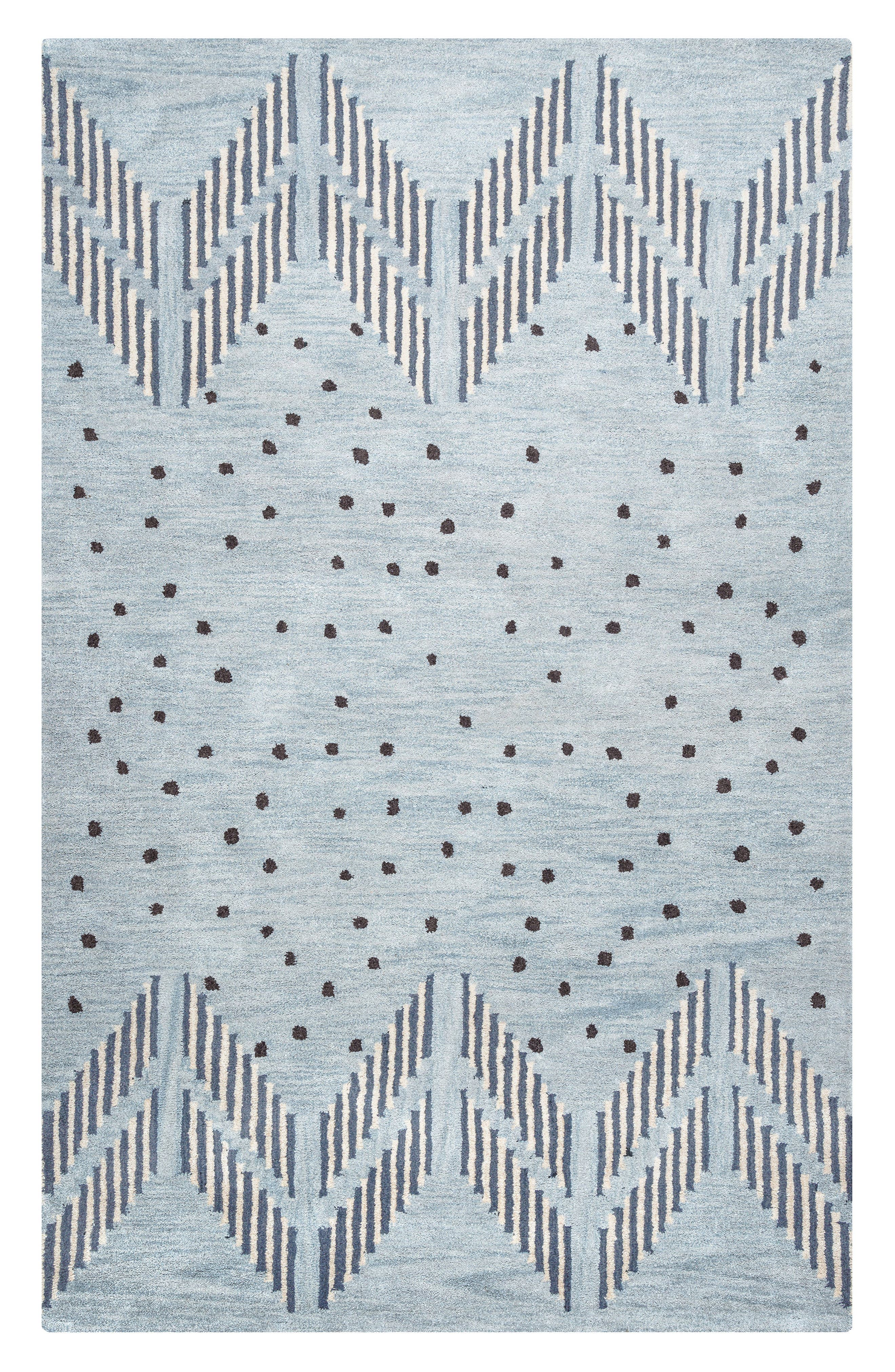 Rizzy Home 'Tumble Weed Loft' Hand Tufted Wool Area Rug