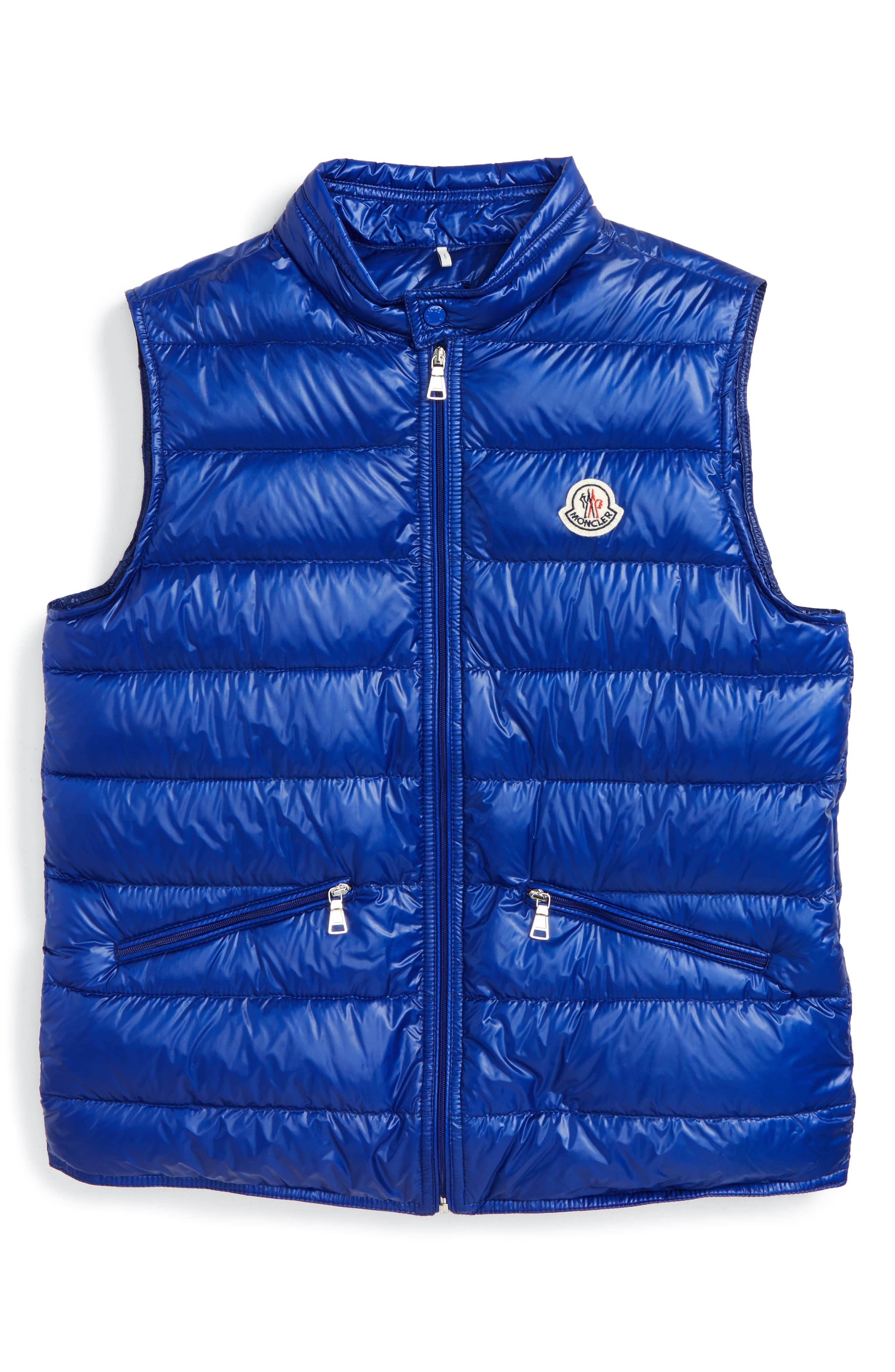 Moncler Gui Water Resistant Quilted Down Vest (Toddler, Little Kid & Big Kid)