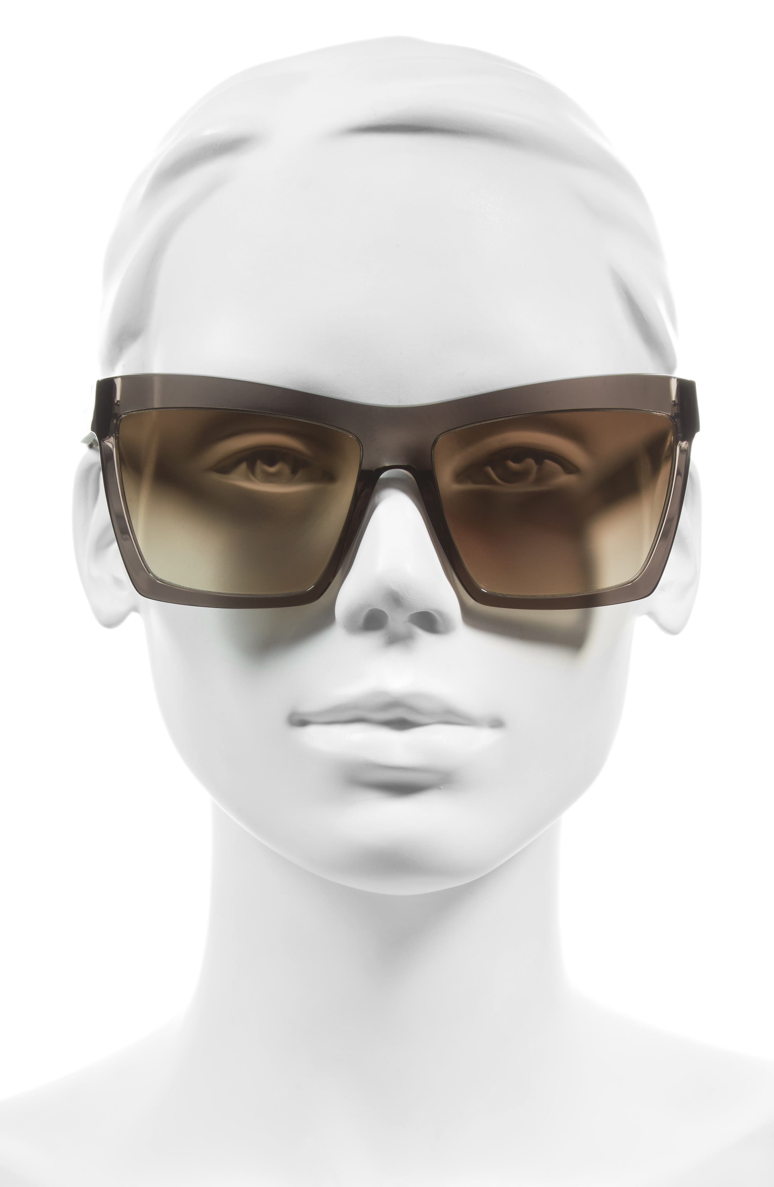 Alternate Image 2  - Balenciaga Paris 60mm Oversize Sunglasses