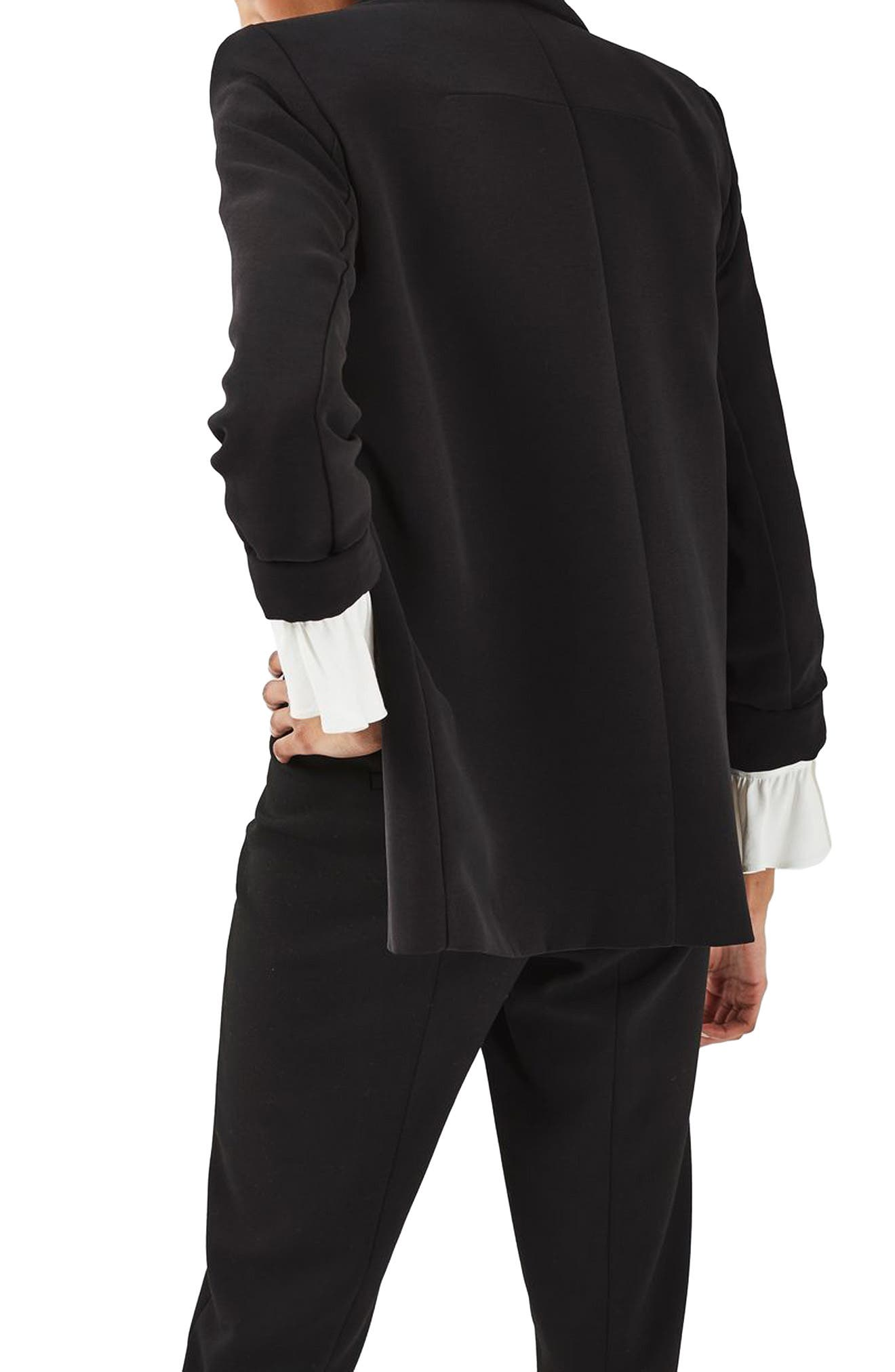 Alternate Image 3  - Topshop Slouch Tuxedo Jacket