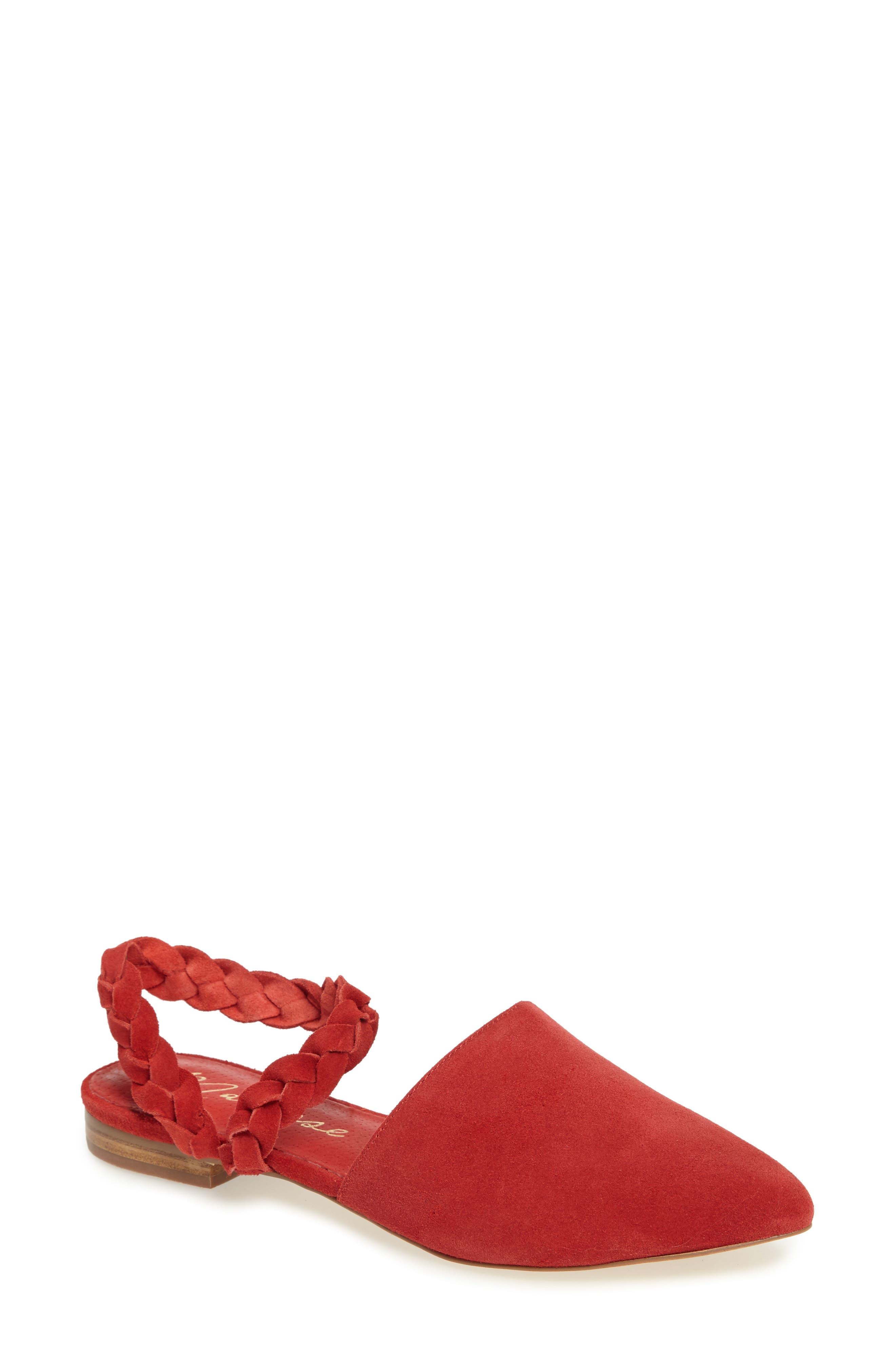 Matisse Braided Strap Flat (Women)