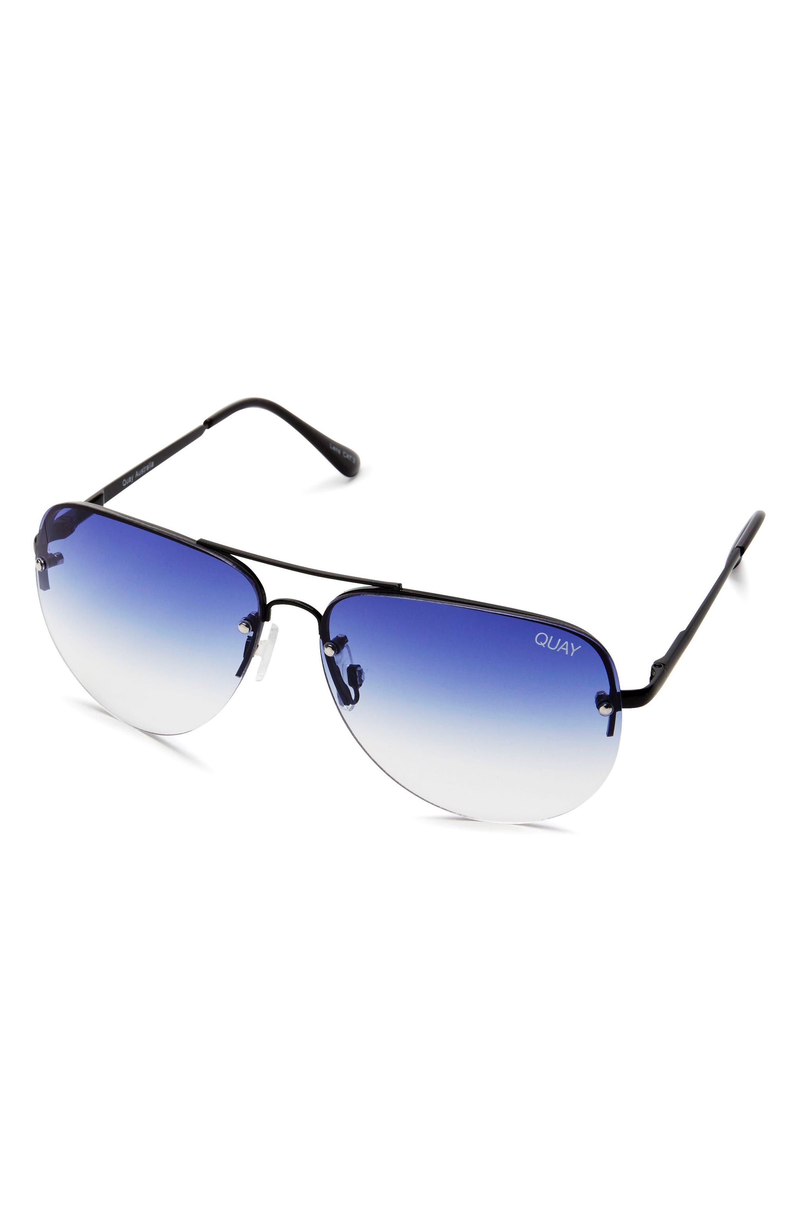 Alternate Image 2  - Quay Australia Muse Fade 62mm Aviator Sunglasses