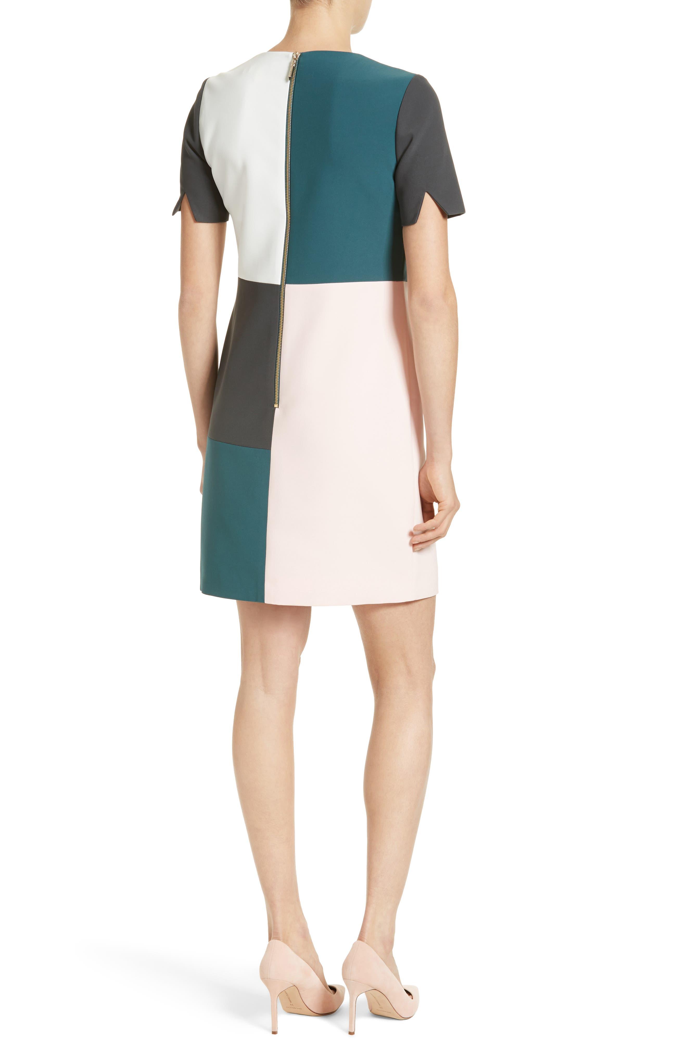Alternate Image 2  - Ted Baker London Ardell Colorblock Dress