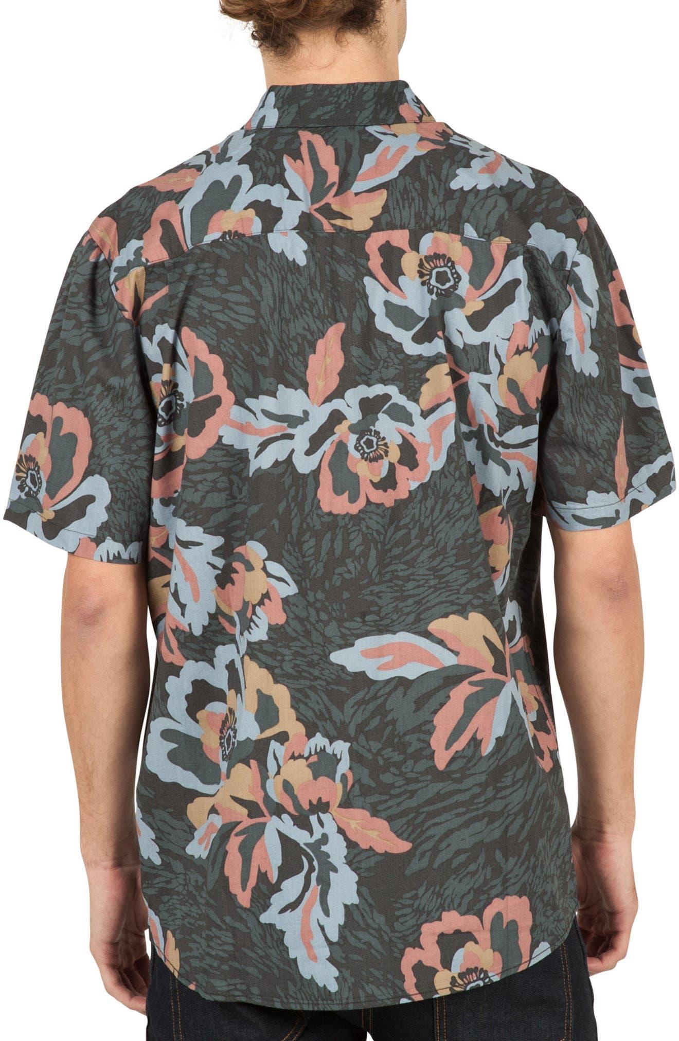 Alternate Image 2  - Volcom Cubano Cotton Blend Woven Shirt