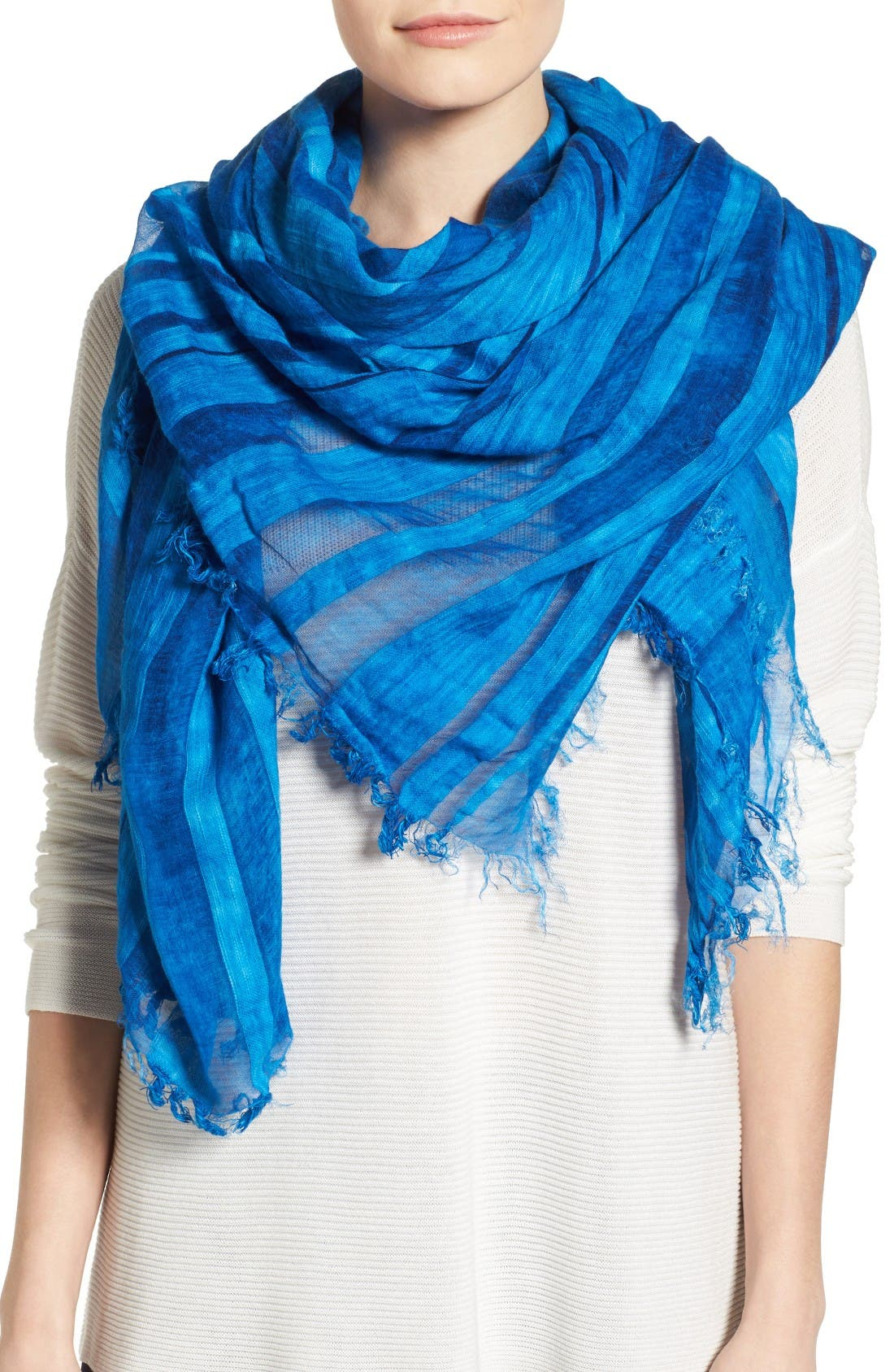 EILEEN FISHER Maltinto Organic Cotton & Modal Scarf