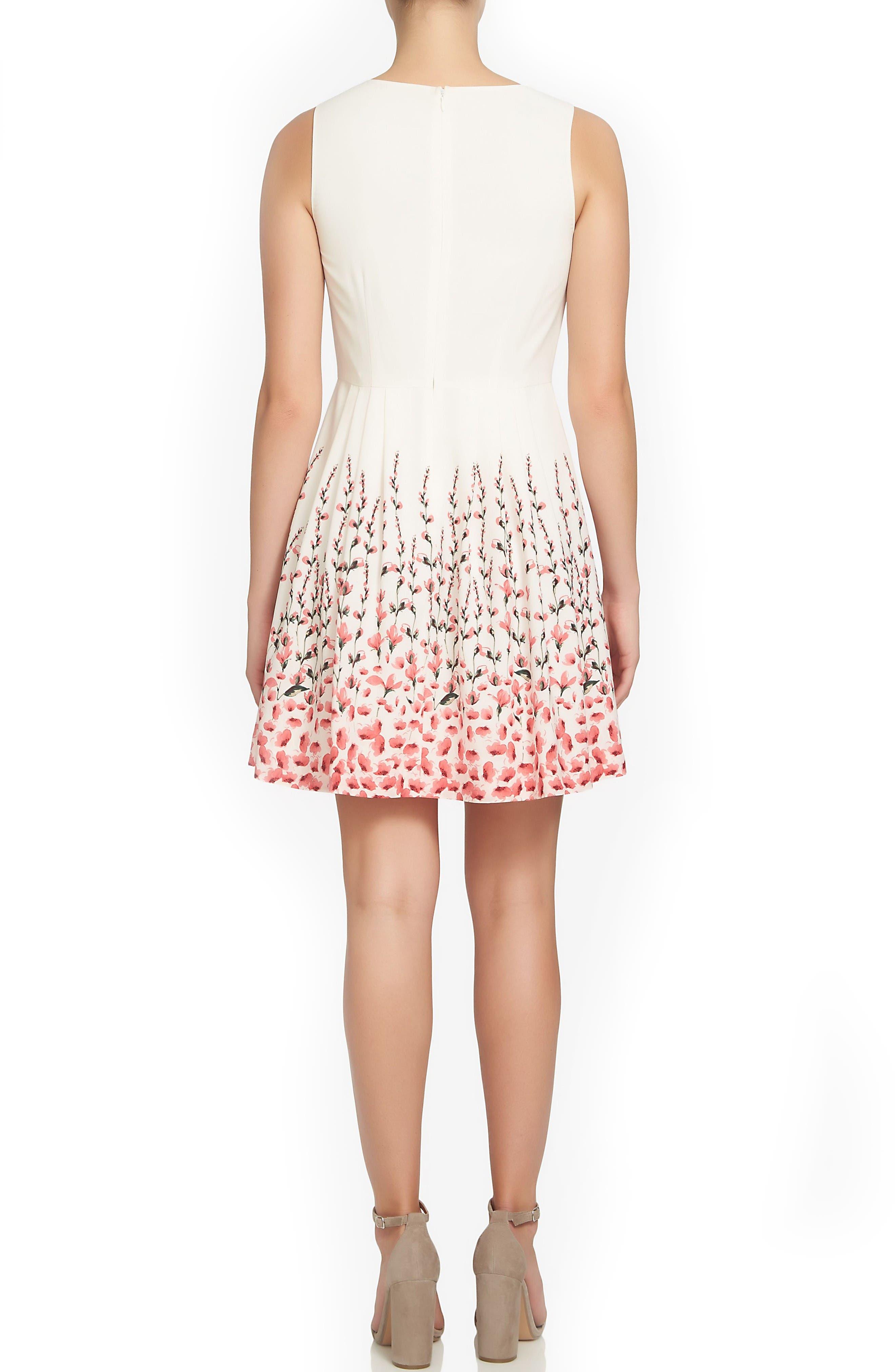 Alternate Image 2  - CeCe Claiborne Fit & Flare Dress (Regular & Petite)
