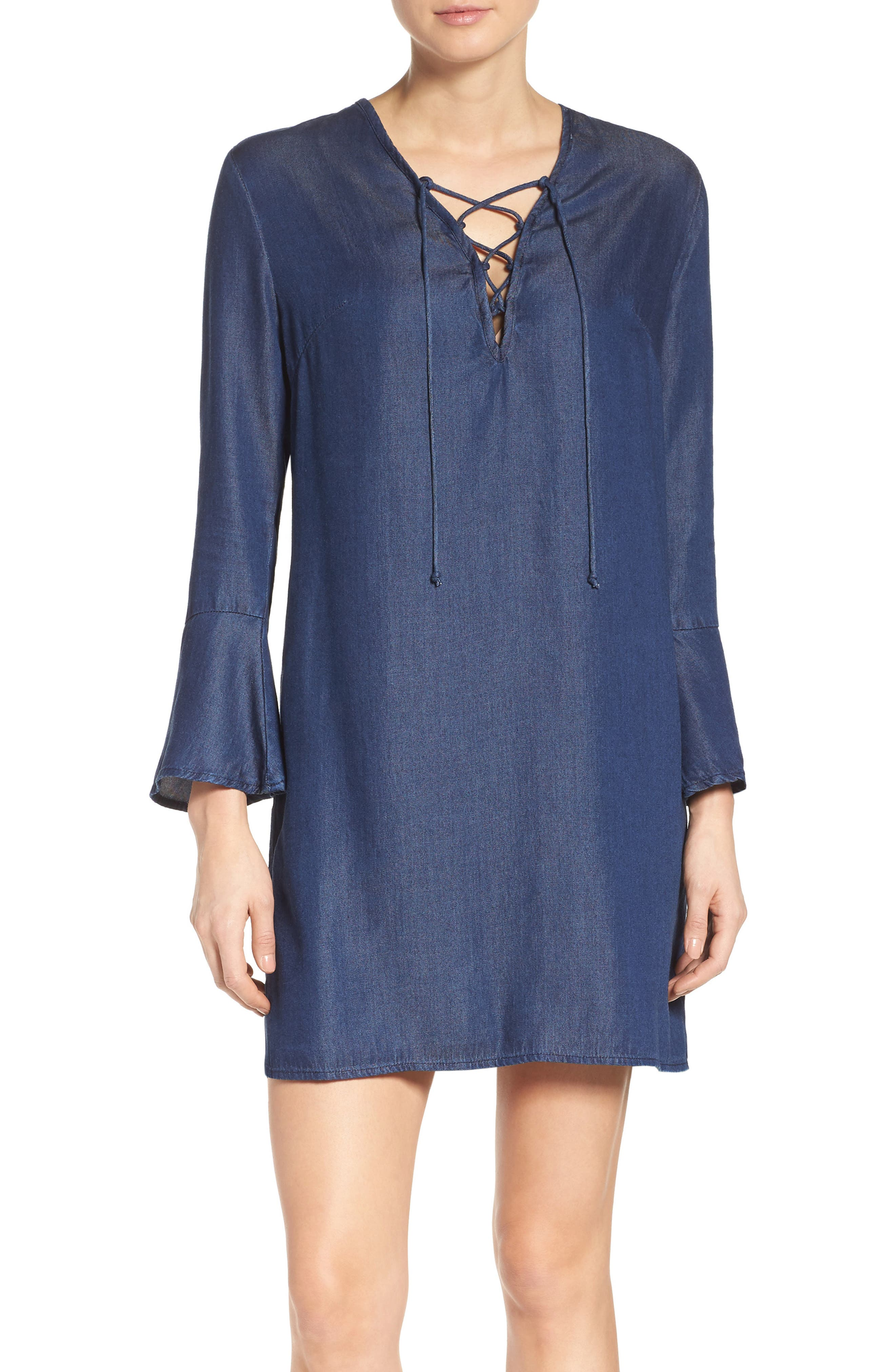 Fraiche by J Denim Shift Dress